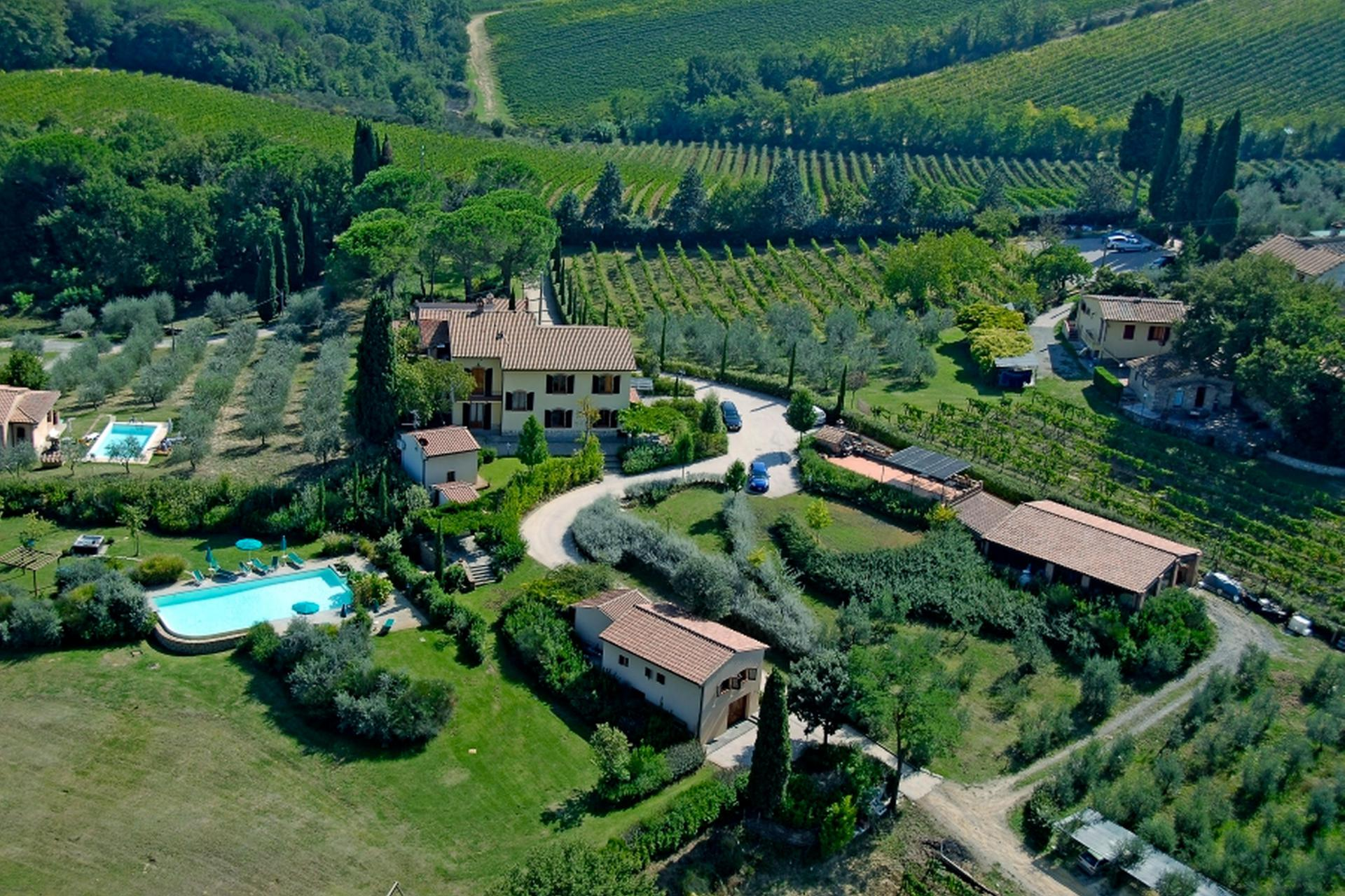 Agriturismo Tuscany Agriturismo in Tuscany with unique view of San Gimignano