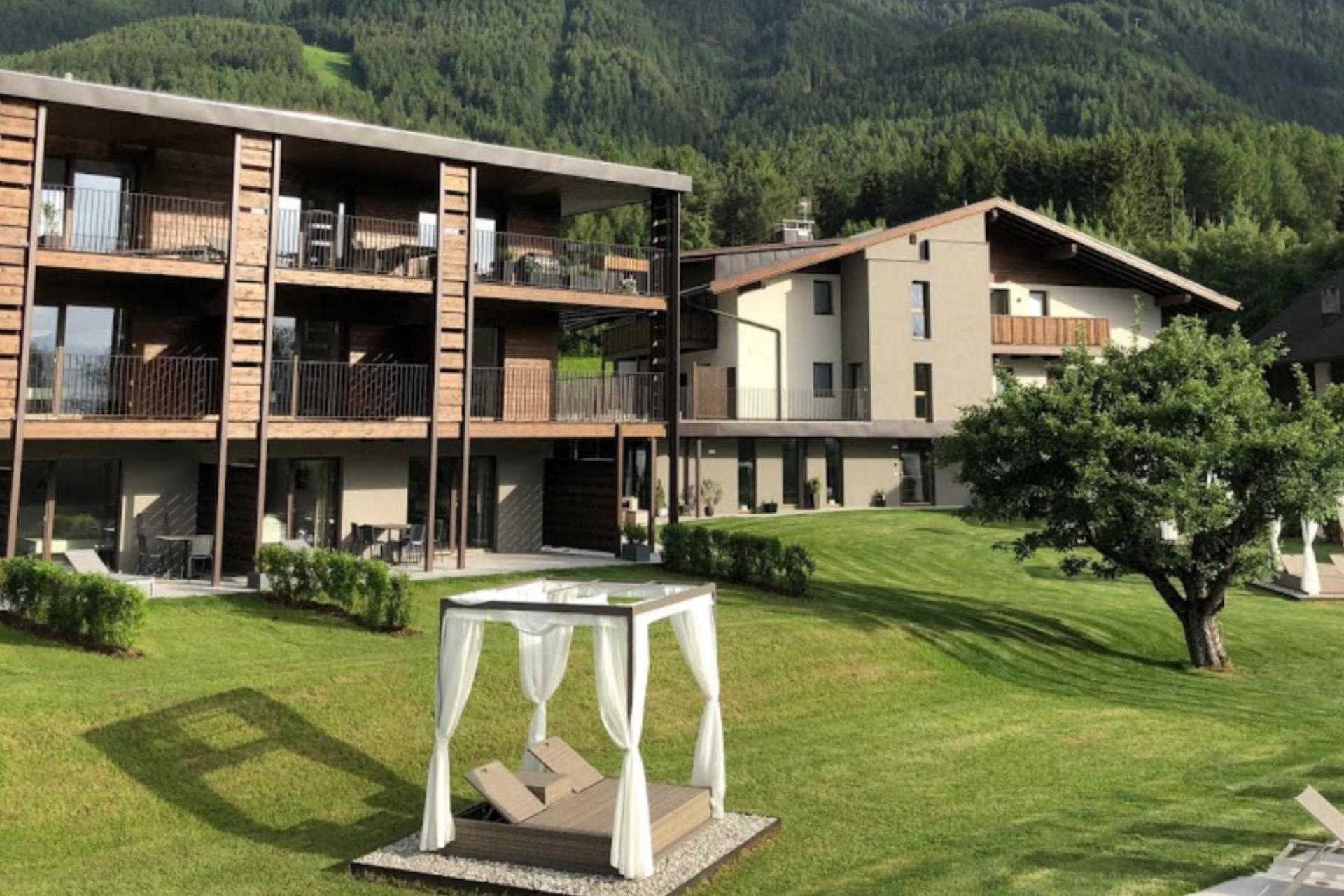 Agriturismo Dolomites Residence within walking distance of a village and ski lift