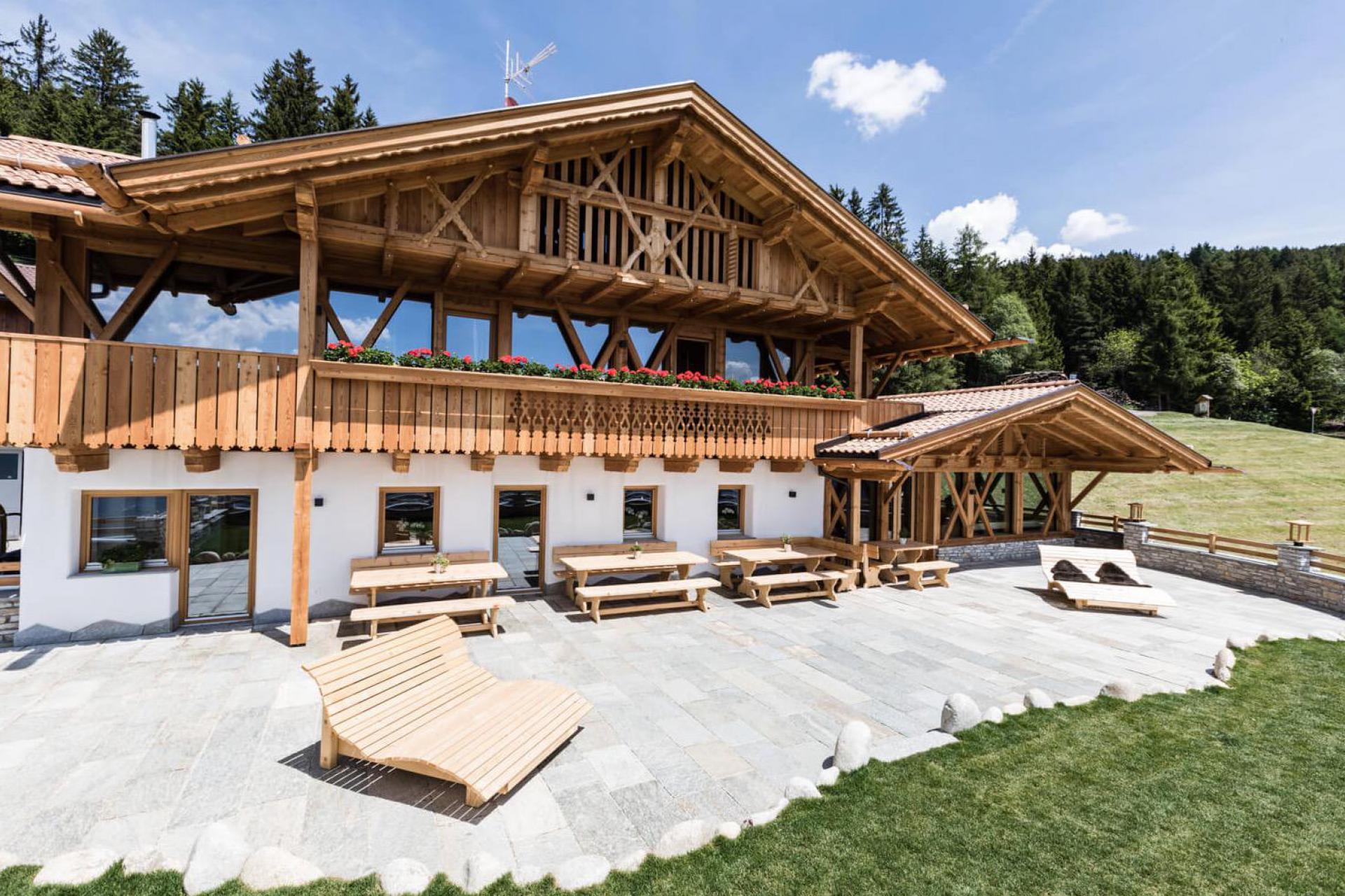 Karakteristieke B&B boerderij in de Dolomieten