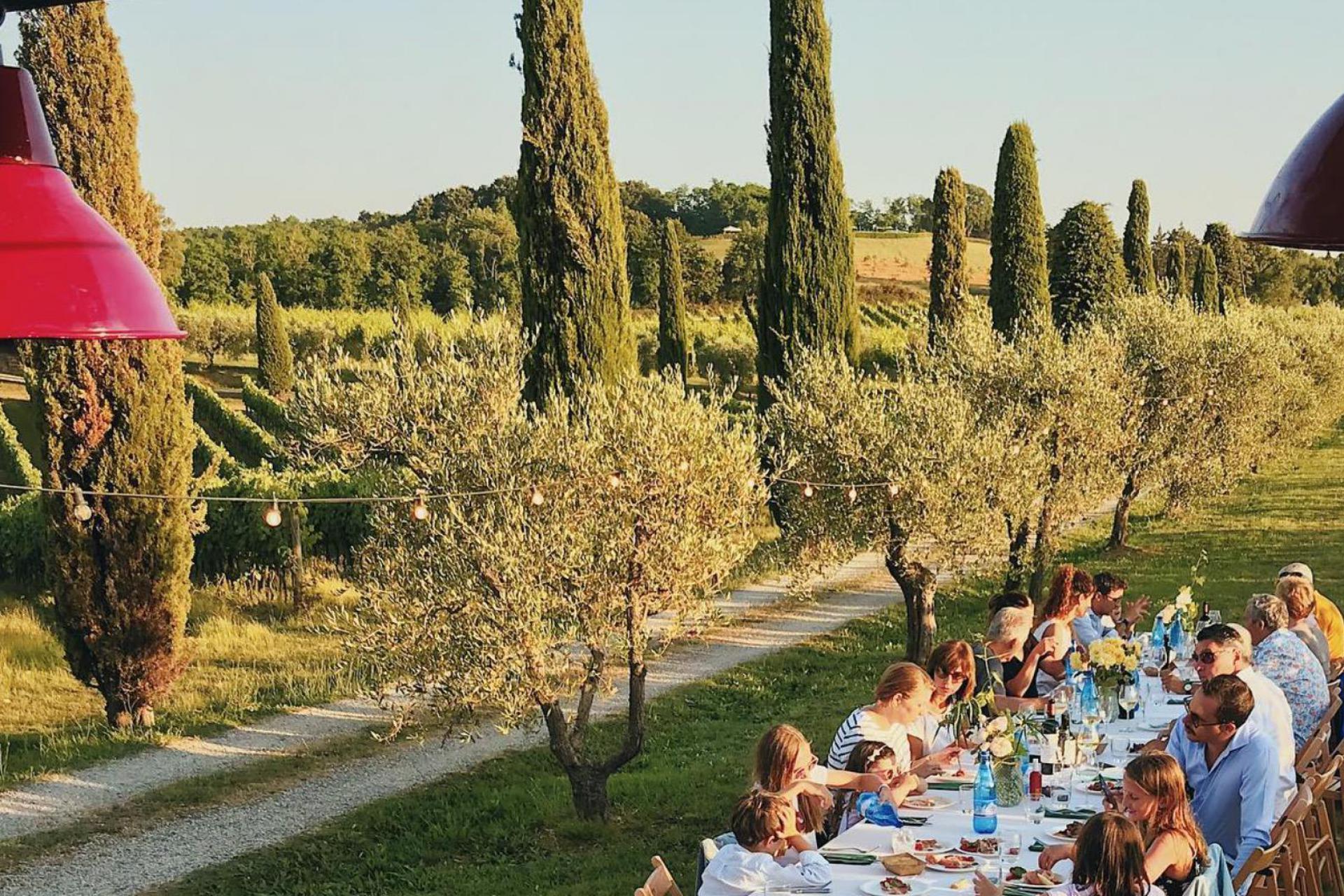 Luxe wijnhuis in de omgeving van Pisa