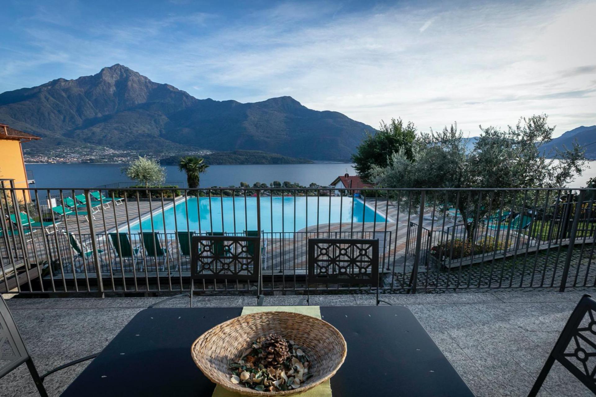 Familievriendelijke residence met verwarmde infinity pool