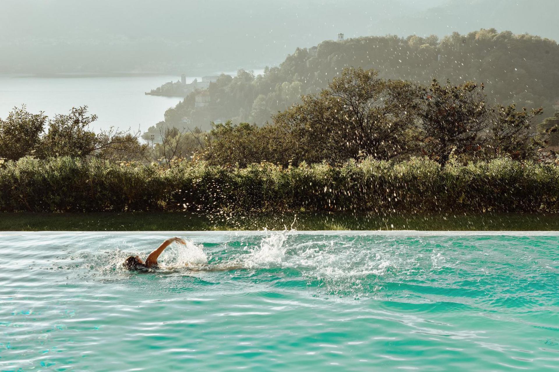 2. Agriturismo met meerzicht en panorama zwembad