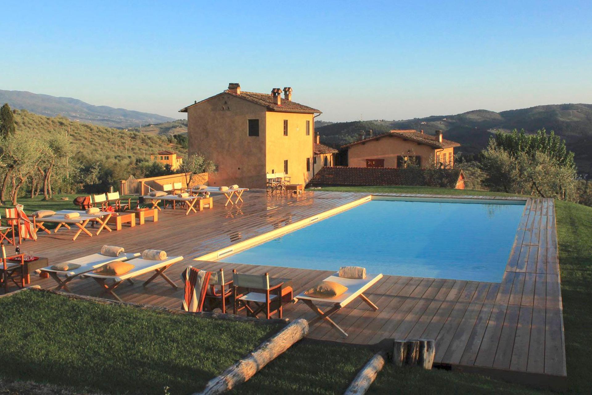 Unieke wijnboerderij vlakbij Florence