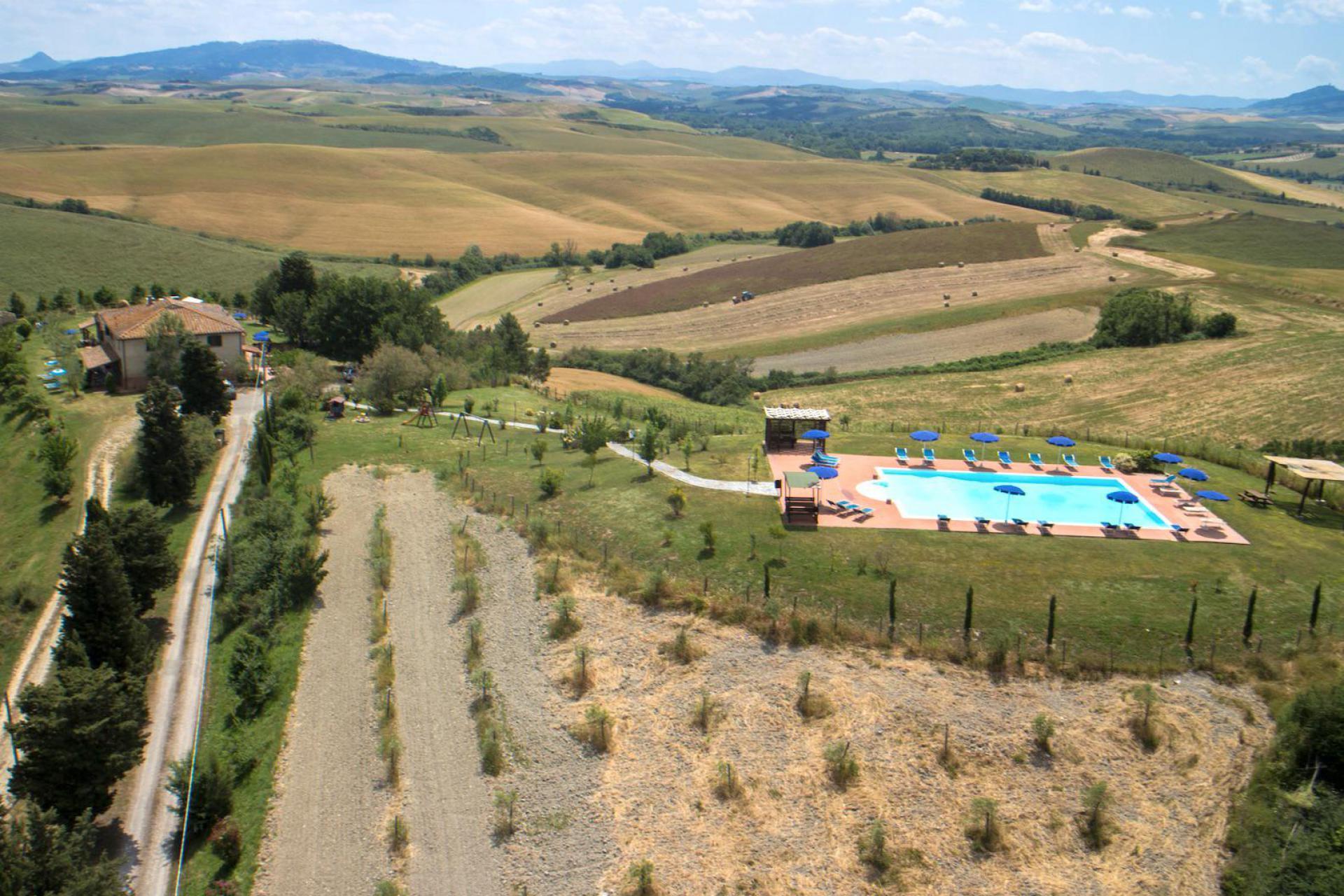 Karakteristieke agriturismo bij Volterra