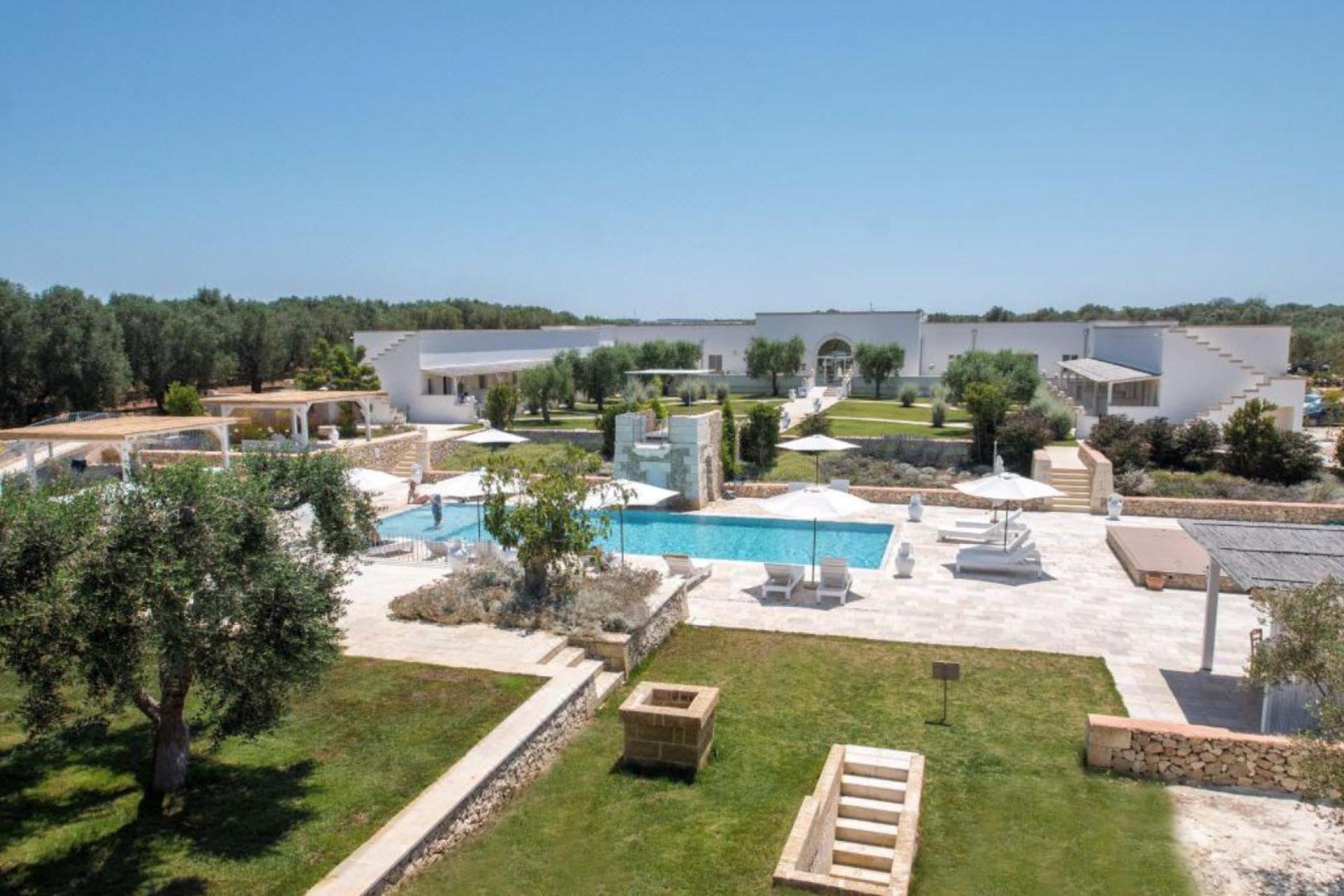 Luxe masseria bij bruisende badplaats Otranto