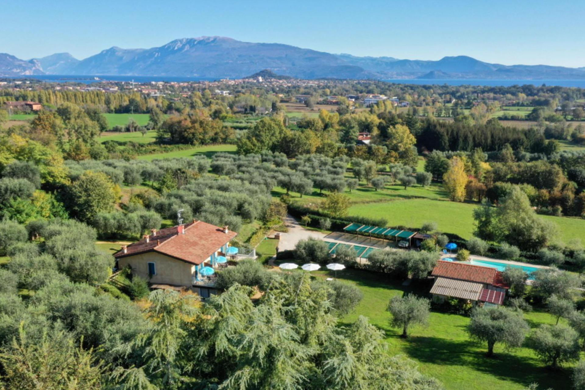 Agriturismo Lake Como and Lake Garda Small cozy agriturismo in an olive grove near Lake Garda