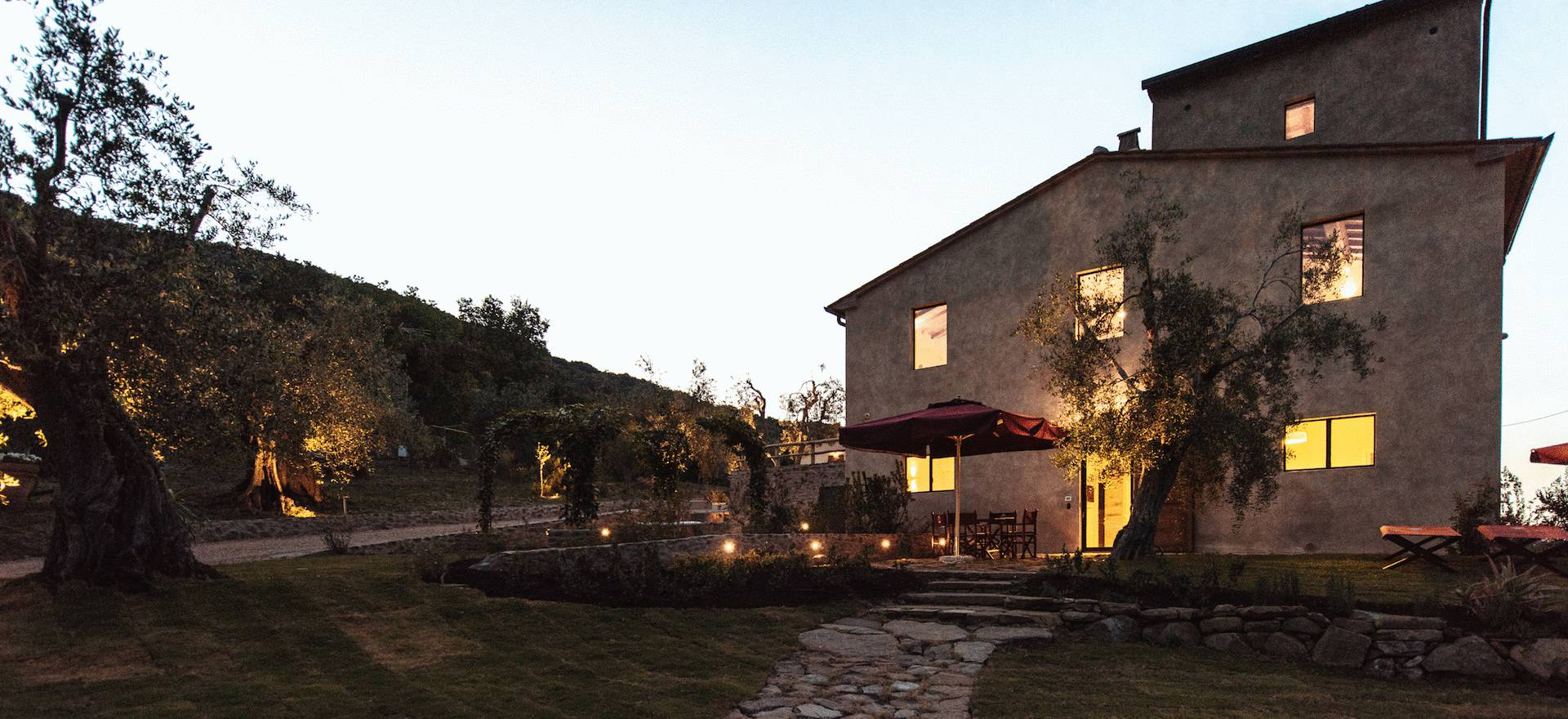 Agriturismo Tuscany Luxury agriturismo in Tuscany with sea view