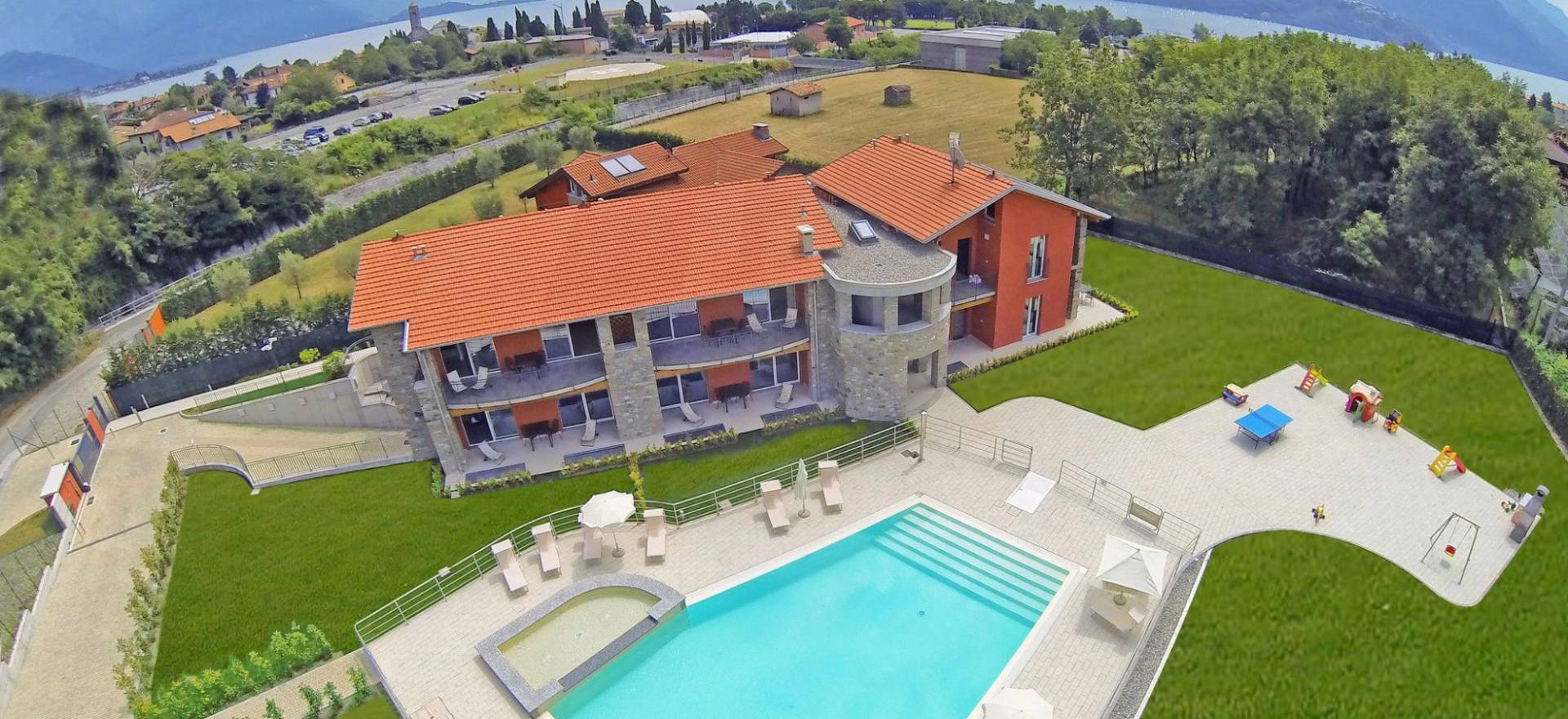 Agriturismo Lake Como and Lake Garda Residence Lake Como, child friendly and large pool