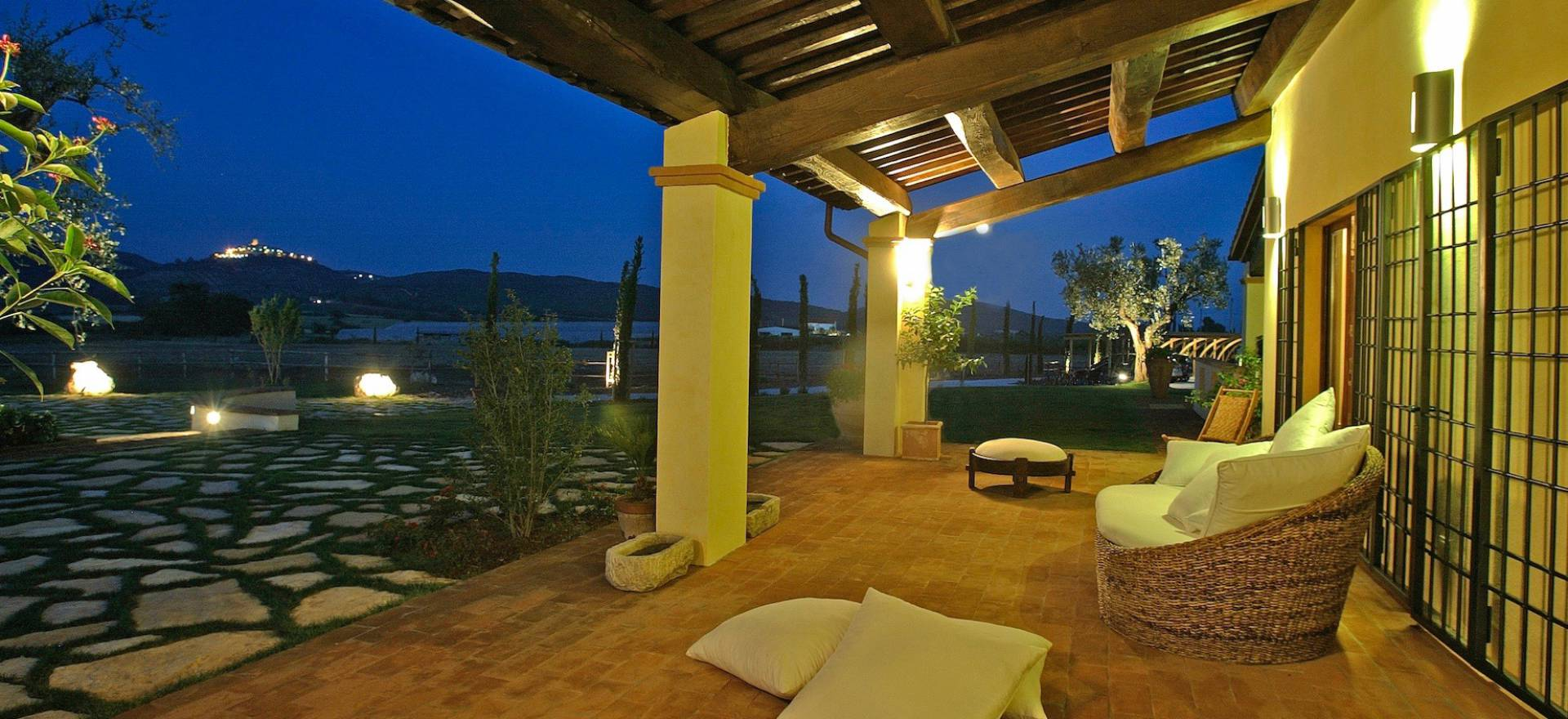 Agriturismo Tuscany Romantic agriturismo Tuscany in the hills near the sea