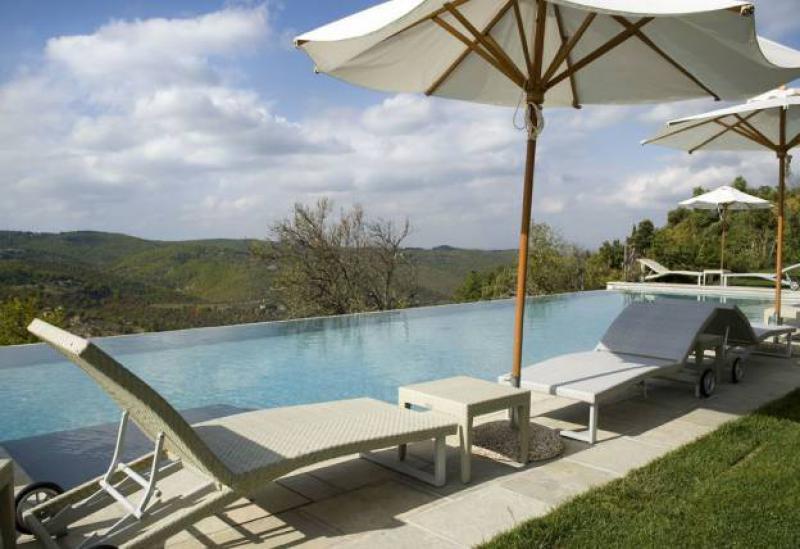 Agriturismo Toscane Agriturismo met luxe appartementen in Chiantistreek