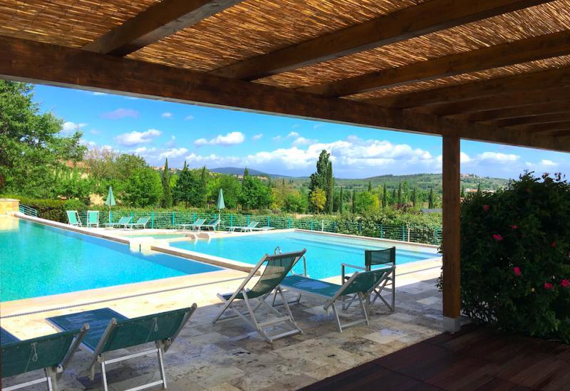 Landelijk gelegen resort in Toscane, kindvriendelijk en met restaurant
