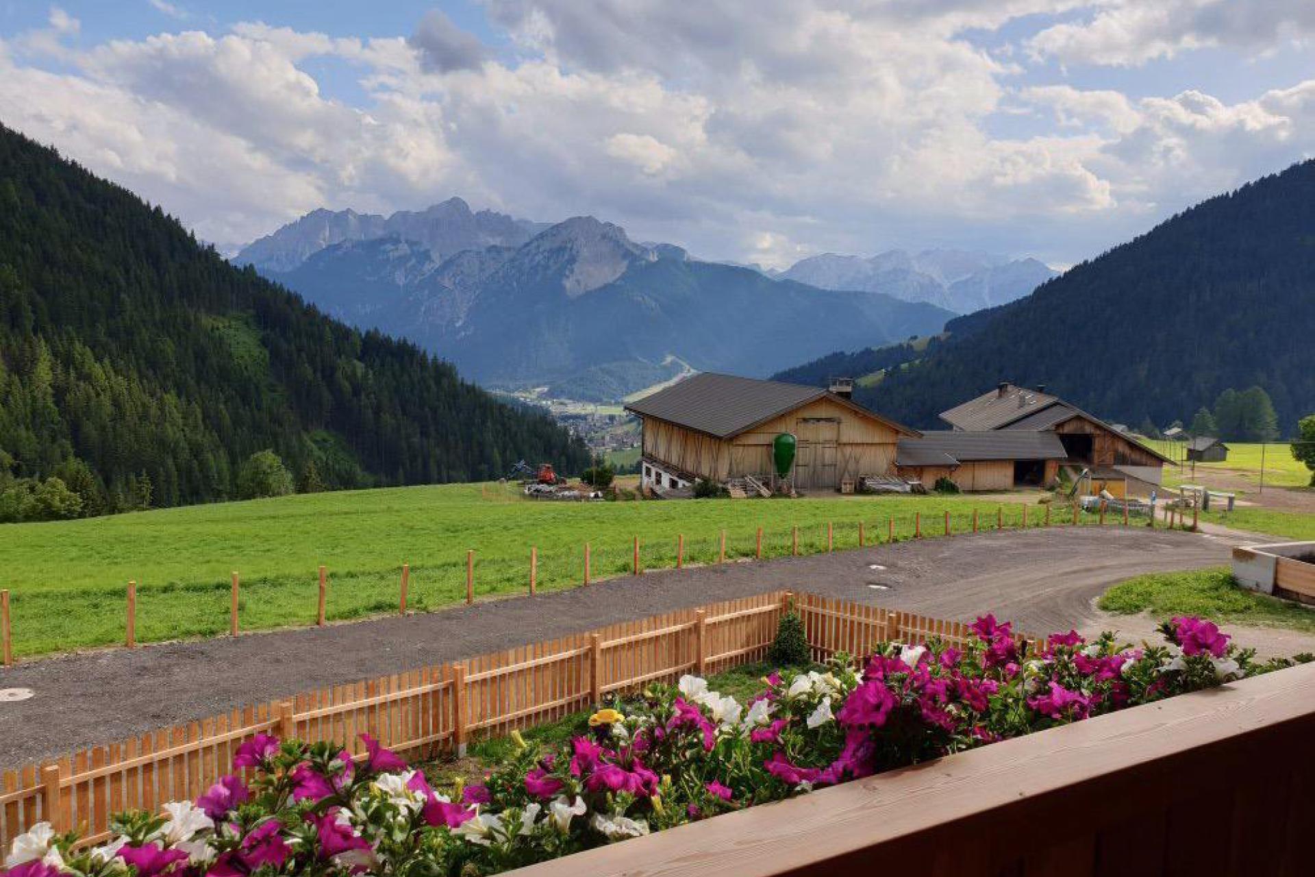 Agriturismo Dolomieten Appartementen bij gastvrije boerenfamilie in de Dolomieten