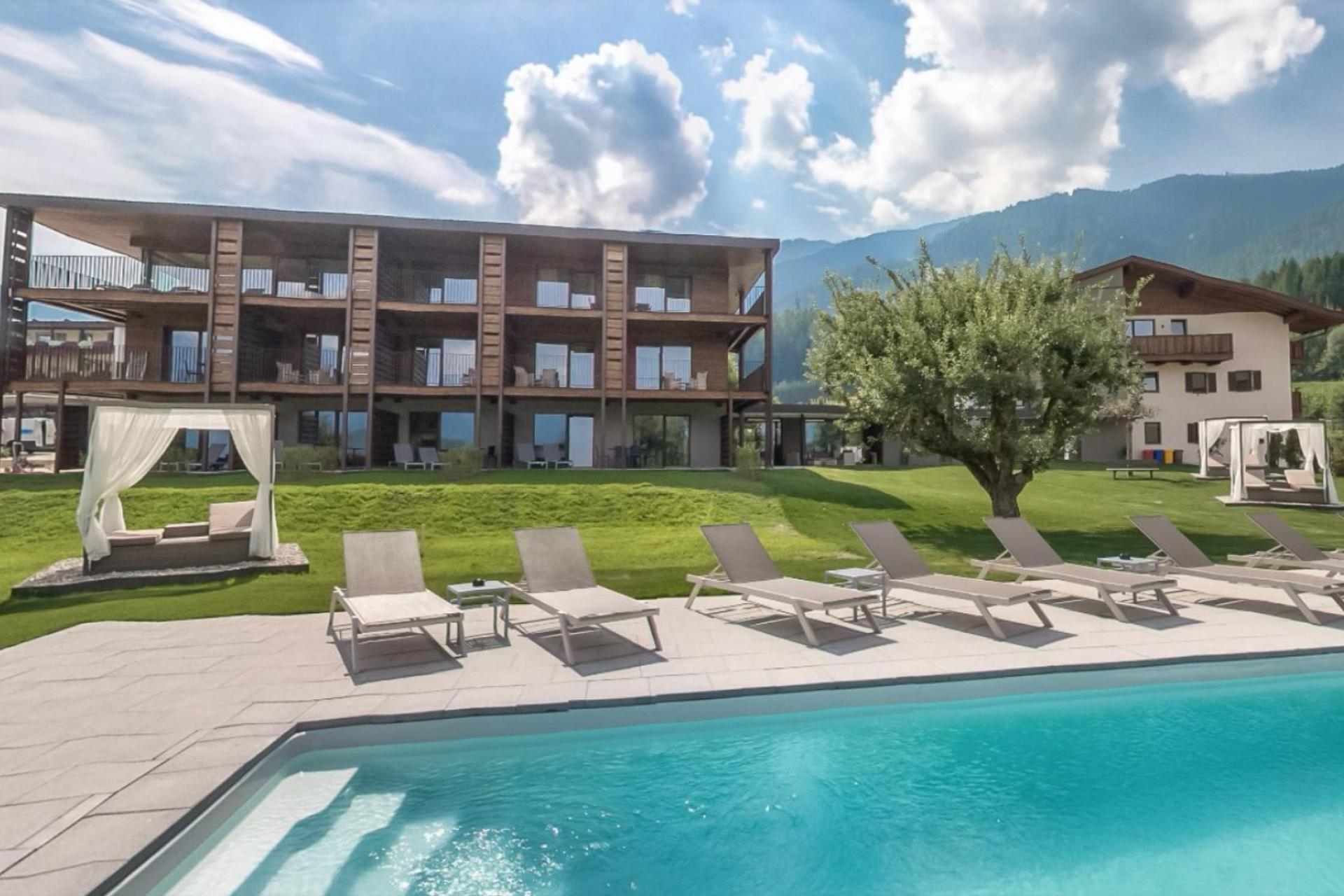 Agriturismo Dolomieten Residence Dolomieten op loopafstand van dorp en skilift