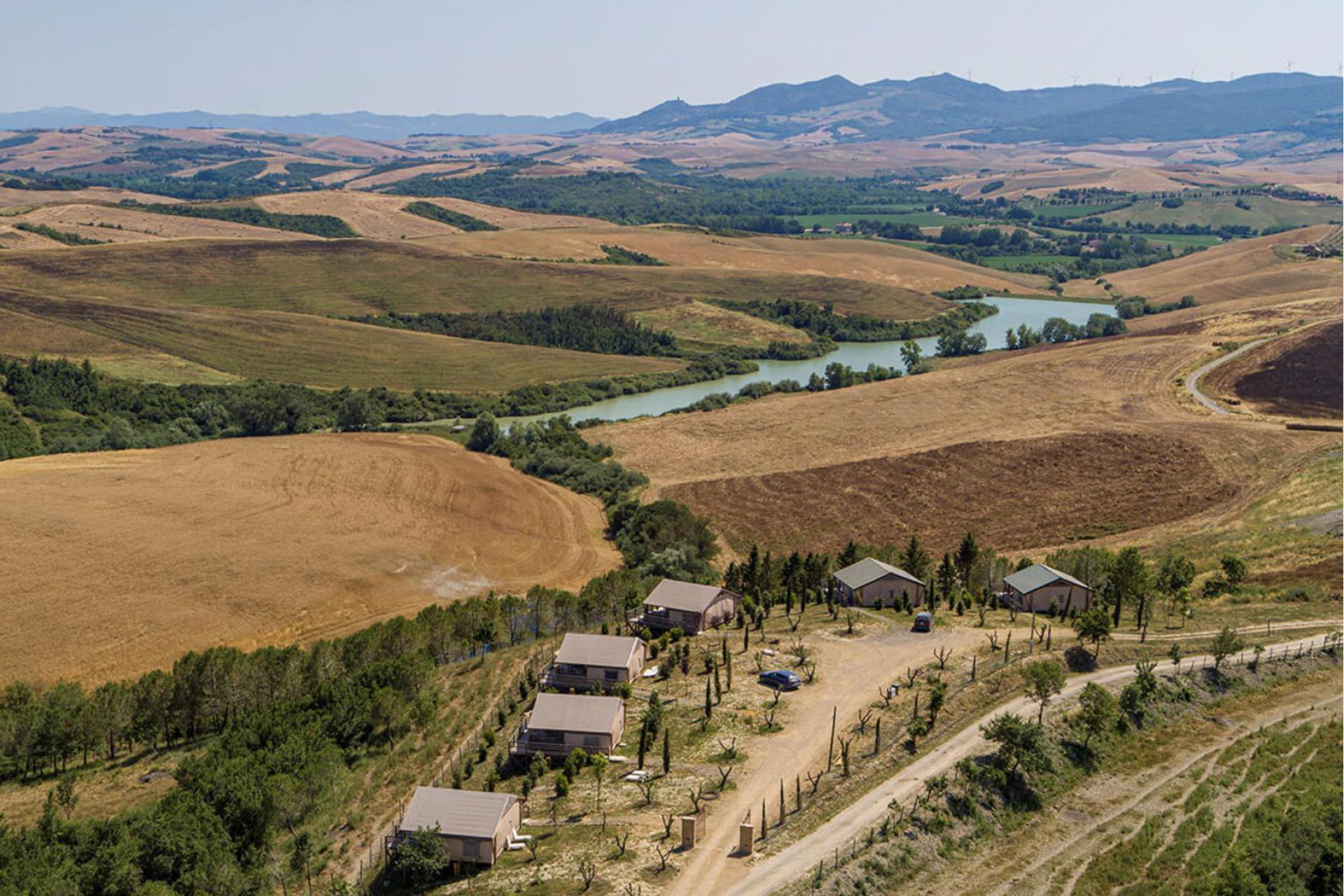 Agriturismo Toscane Glamping Toscane kleinschalig - prachtig uitzicht! | myitaly.nl
