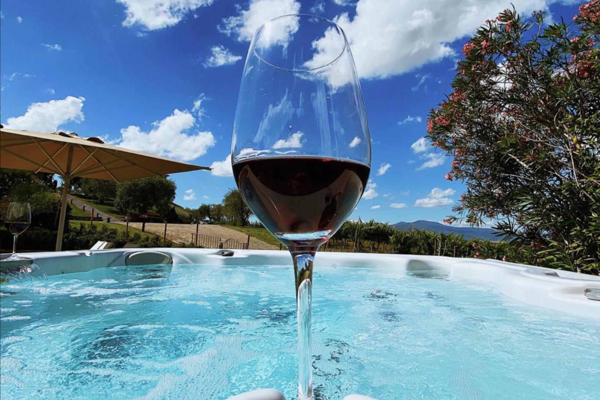 Agriturismo Toscane Appartementen luxe wijnboerderij Toscane - bij Pisa | myitaly.nl