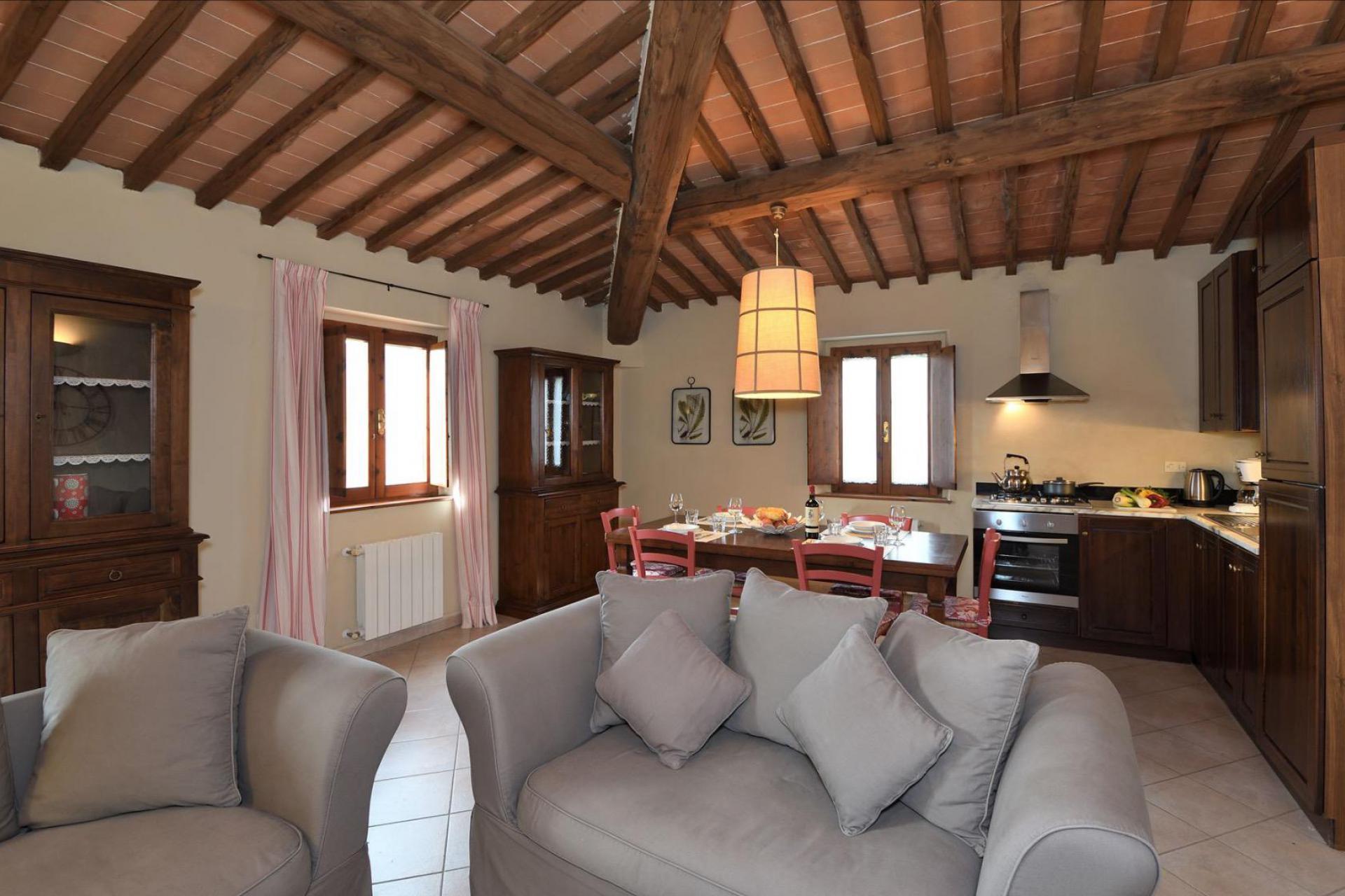 Agriturismo Toscane 7 smaakvolle appartementen in centraal-Toscane | myitaly.nl