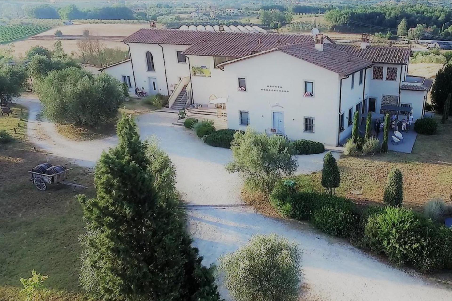 Agriturismo Toscane Gezellige agriturismo bij Vinci in Toscane | myitaly.nl