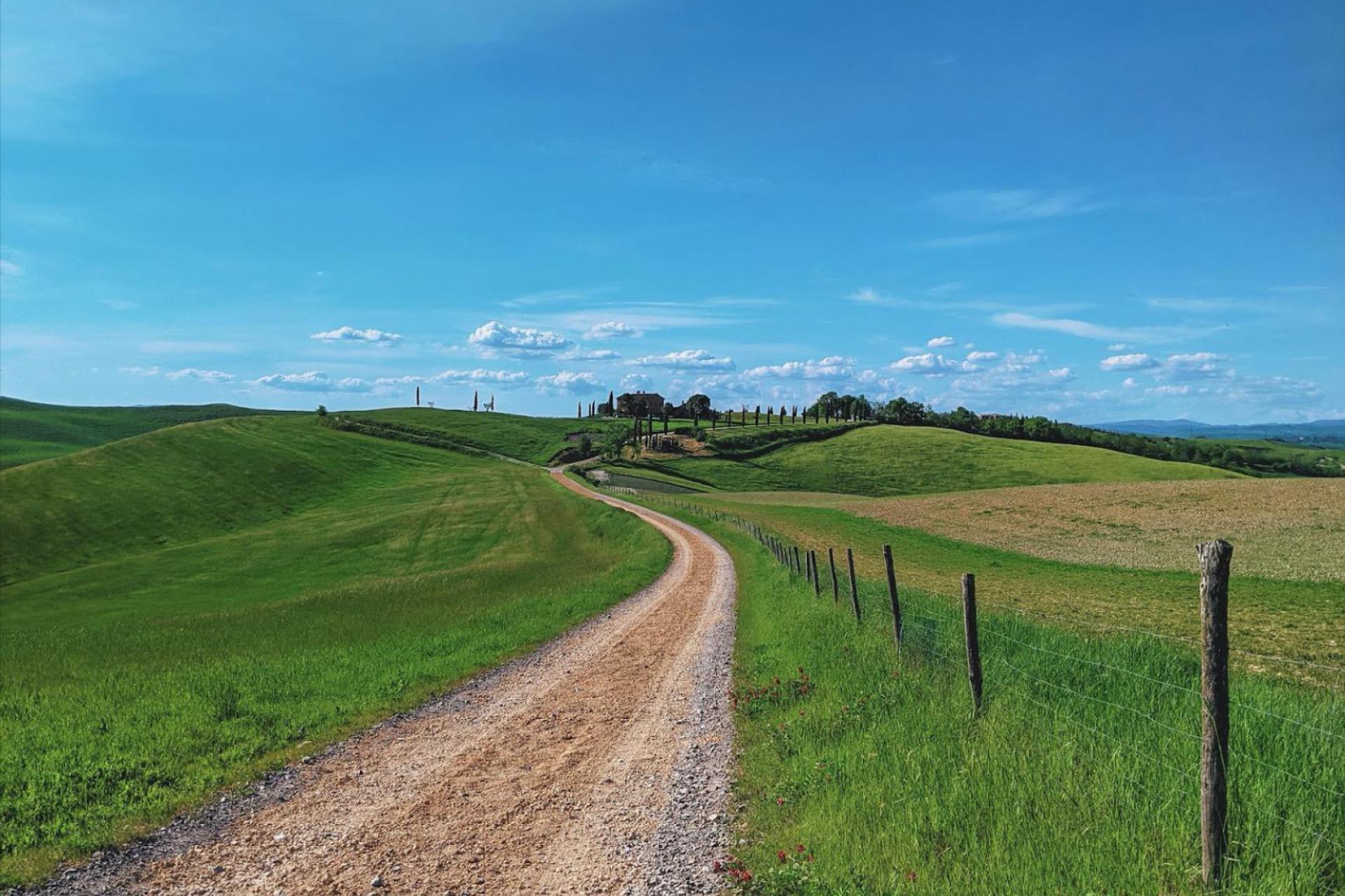 Agriturismo Toscane Kleinschalige agriturismo met uitzicht op Siena   myitaly.nl