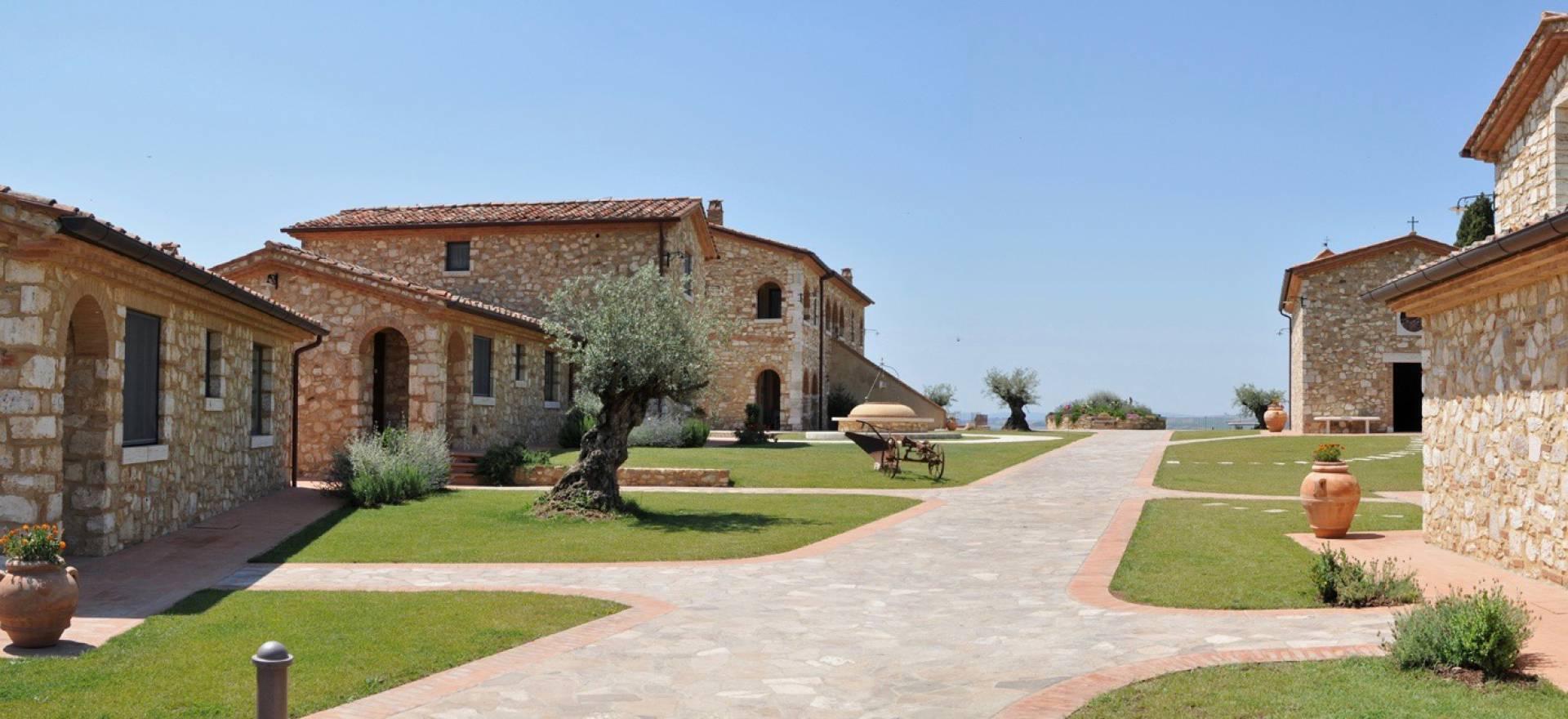 Agriturismo Toscane Prachtige olijfolieboerderij ten oosten van Siena