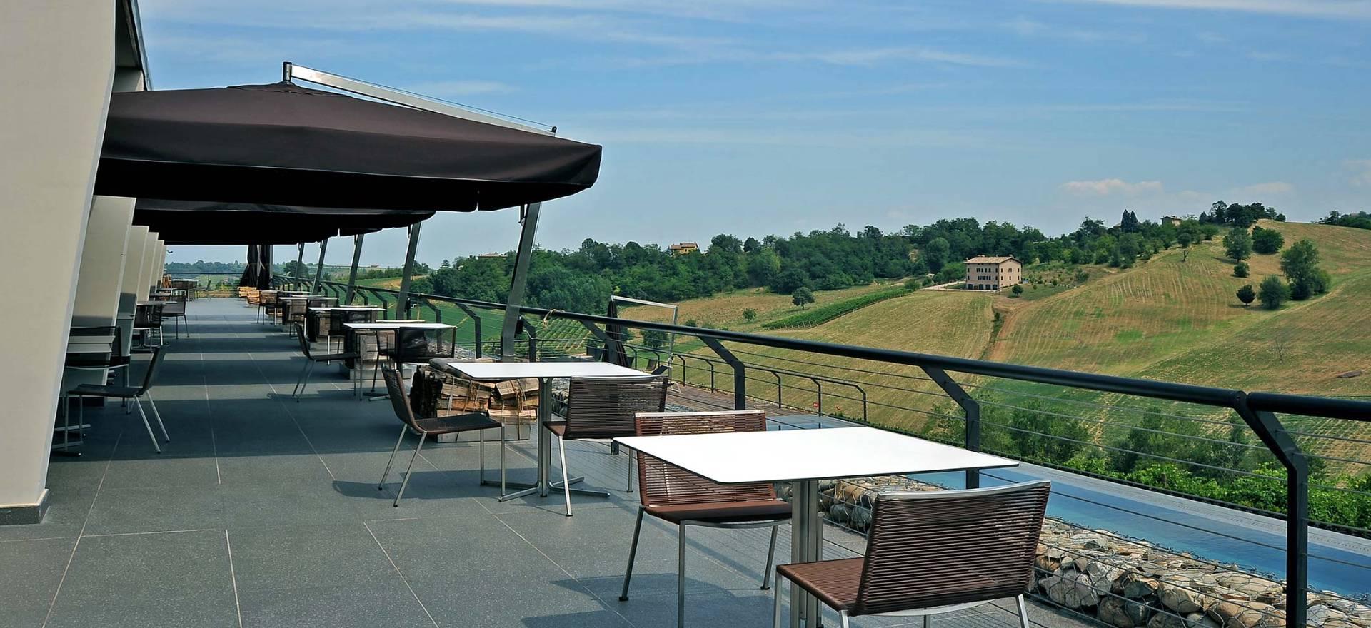 Agriturismo Emilia Romagna Agriturismo met ontspannen sfeer en goed restaurant