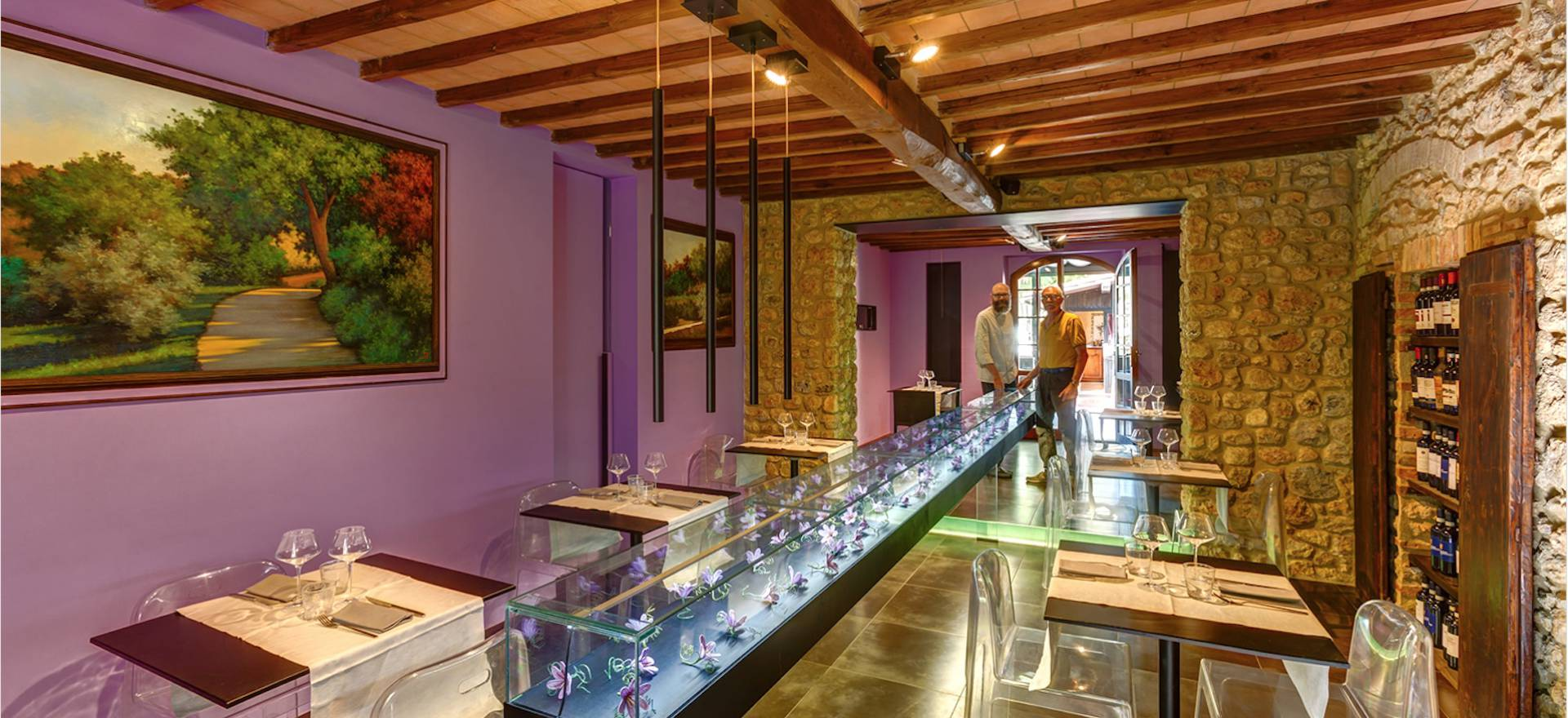Agriturismo Toscane Agriturismo met restaurant bij San Gimignano, Toscane