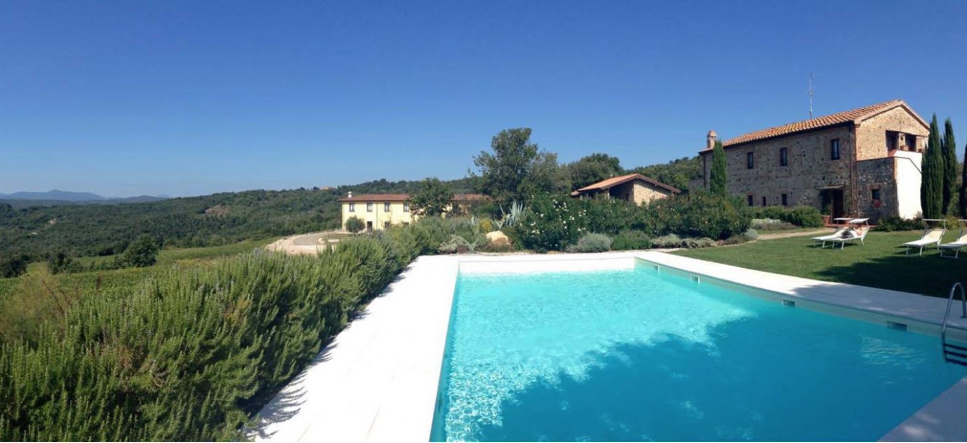 Agriturismo Toscane Agriturismo tussen wijngaarden ten zuiden van Siena