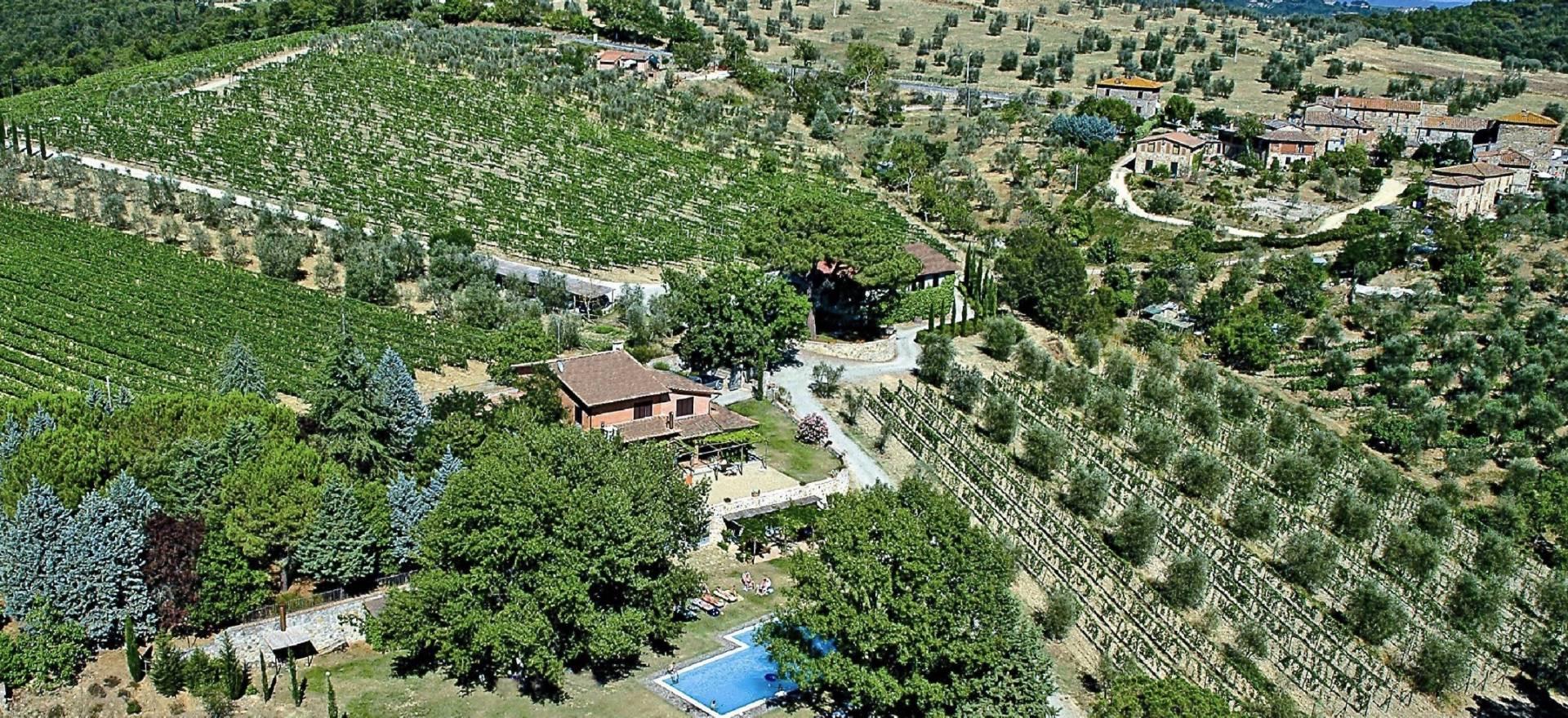 Agriturismo Toscane Authentieke wijnboerderij vlakbij Siena, Toscane