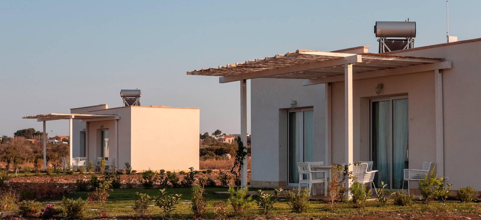 Agriturismo Sicilie Cottages met uitzicht op zee en nabij Siracusa