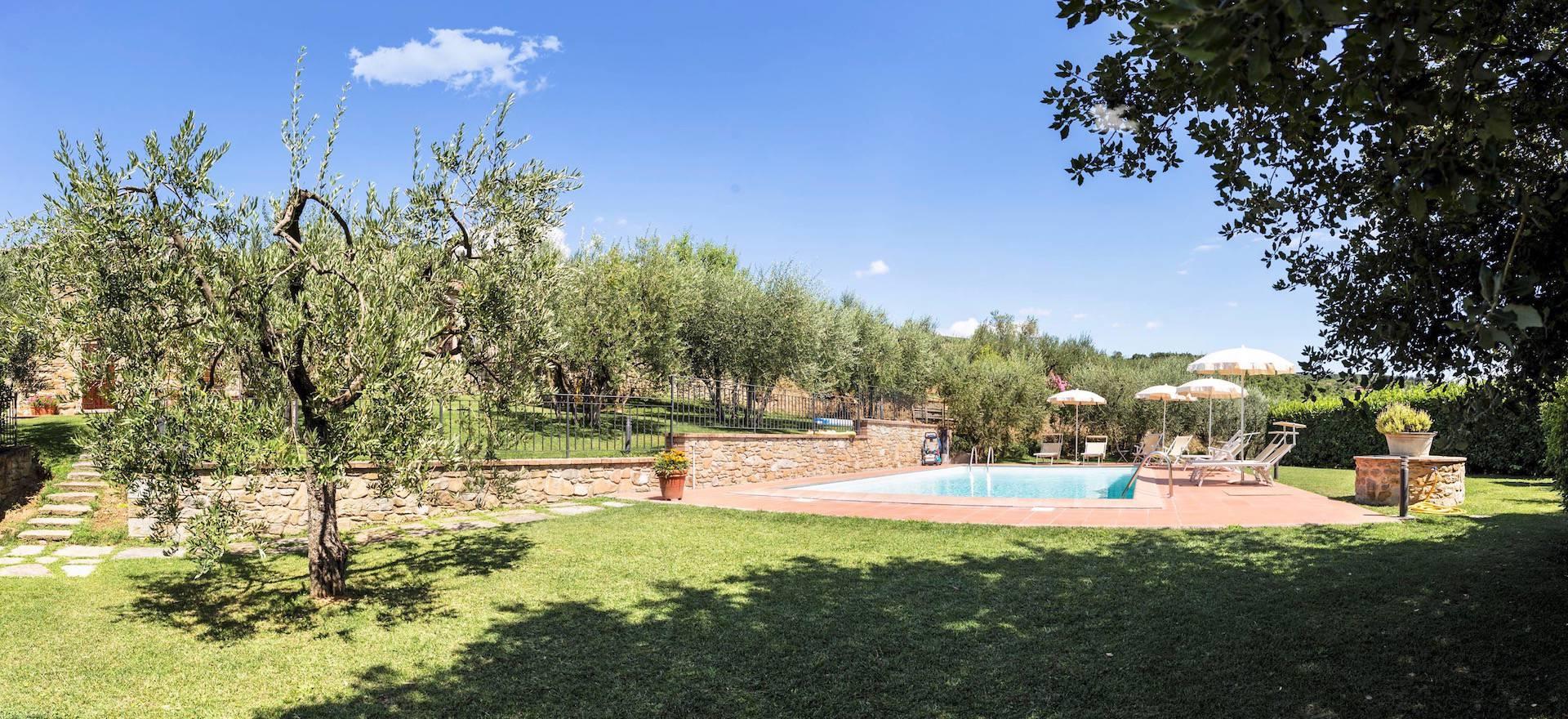 Agriturismo Toscane Gastvrije agriturismo niet ver van Cortona