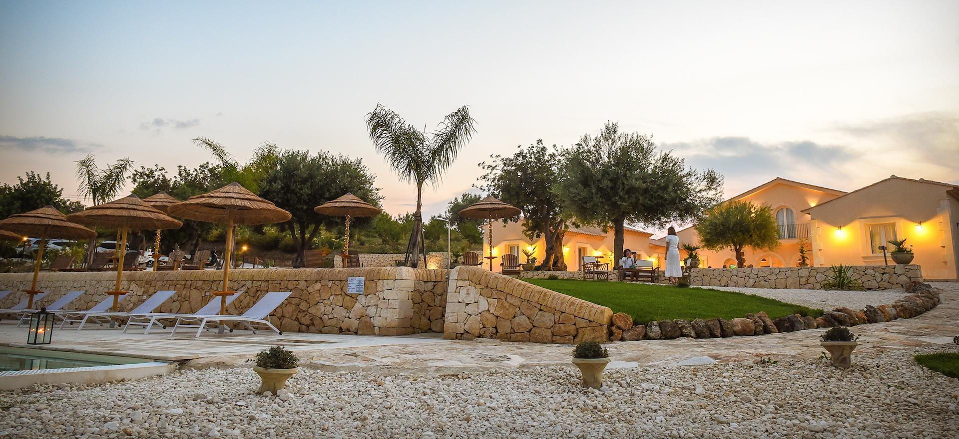 Agriturismo Sicilie Geweldige agriturismo met uitzicht op Noto en vlakbij zee