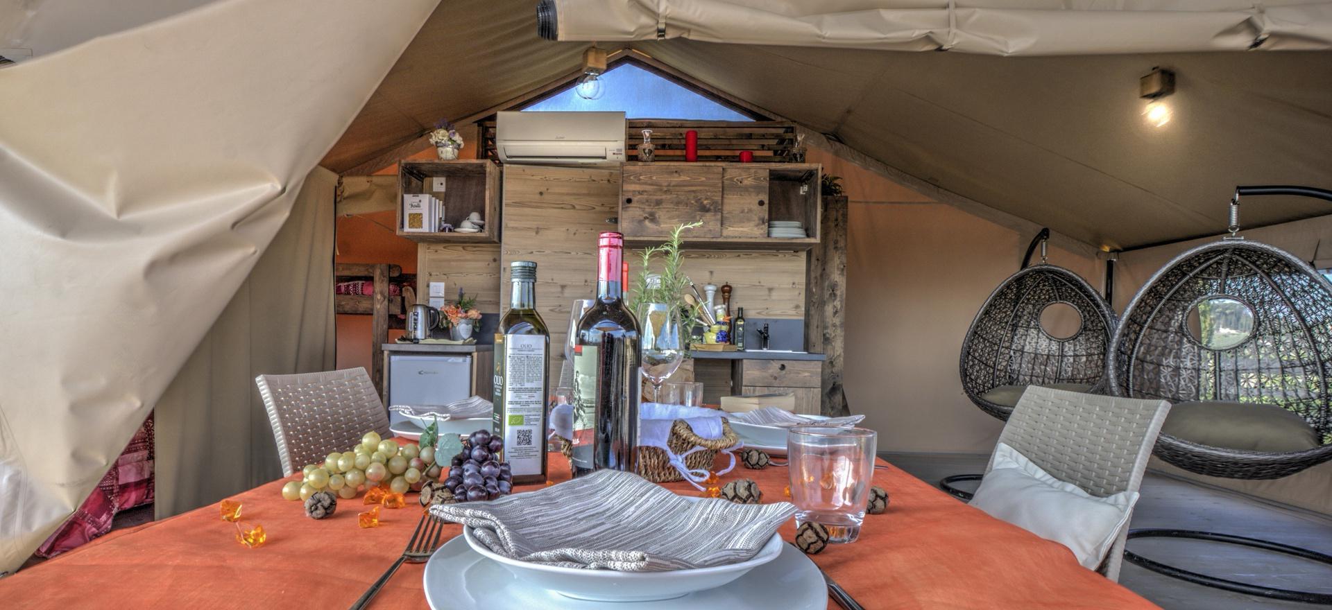 Familievriendelijke glamping in Toscane