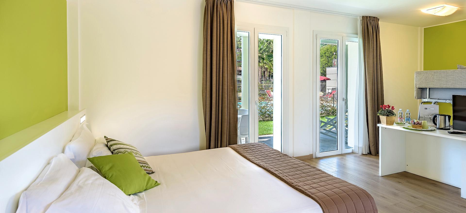 Agriturismo Comomeer en Gardameer Hotel nabij de kiezelstranden van het Comomeer
