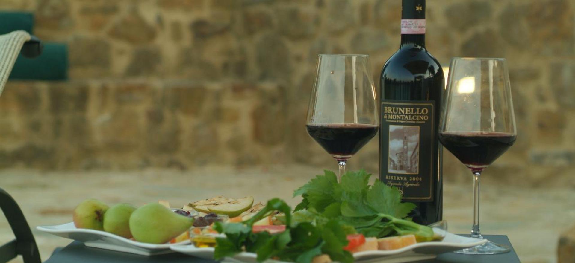 Agriturismo Toscane Luxe agriturismo tussen wijngaarden van de Brunello