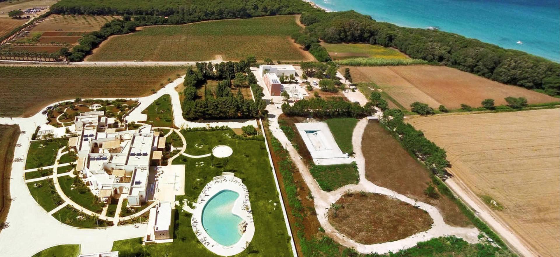 Agriturismo Puglia Luxe agriturismo vlakbij zee, met moderne appartementen