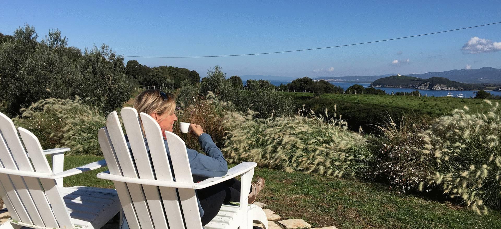 Agriturismo Toscane Luxe agriturismo Toscane met uitzicht op zee