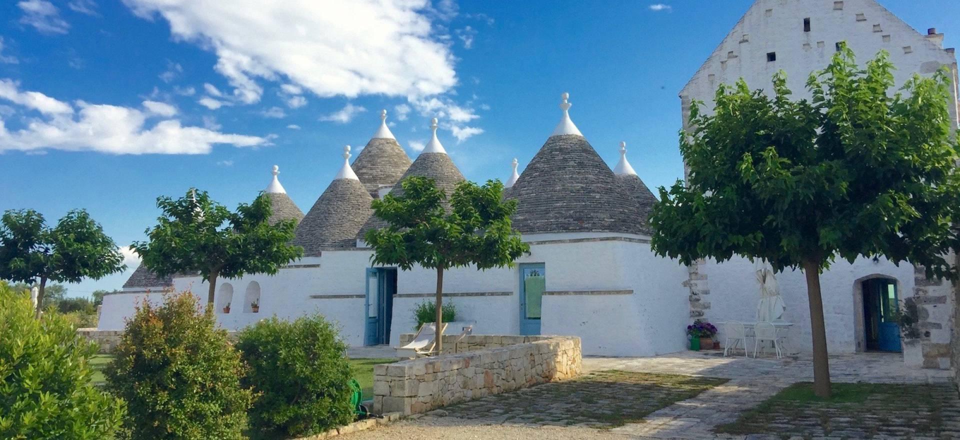 Agriturismo Puglia Mooie suites in trullo met prachtg uitzicht