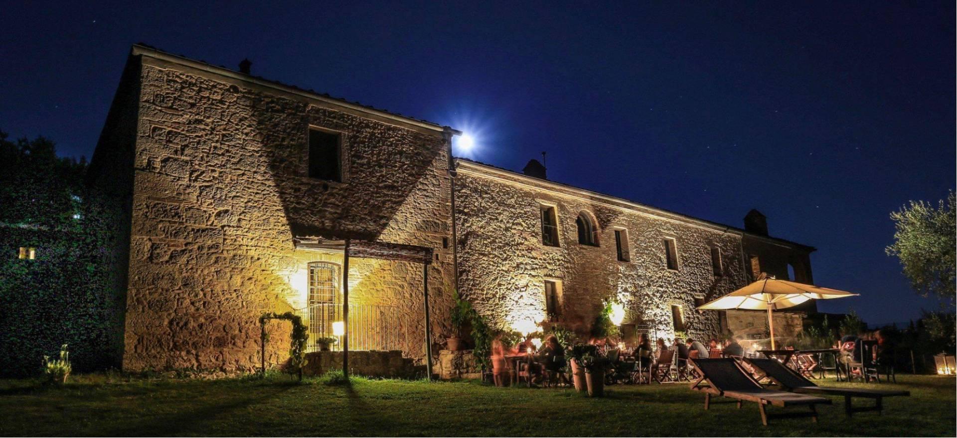 Agriturismo Toscane Prachtige agriturismo nabij Pienza met restaurant