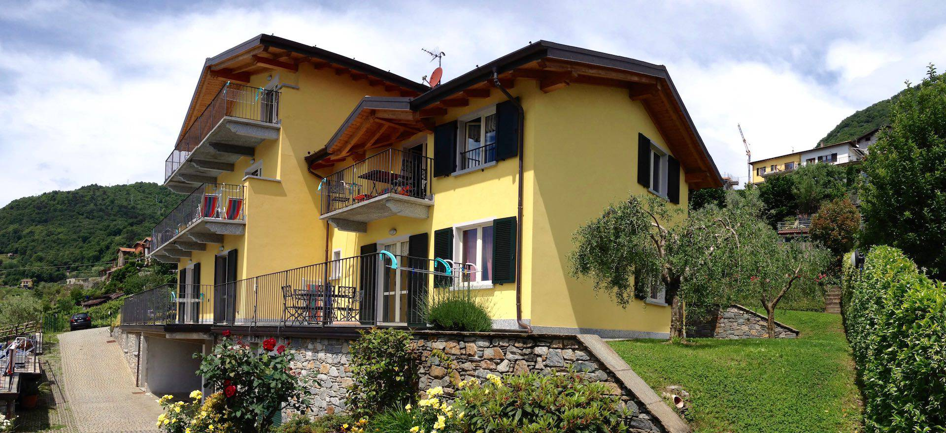 Agriturismo Comomeer en Gardameer Residence Comomeer, ideaal voor gezinnen