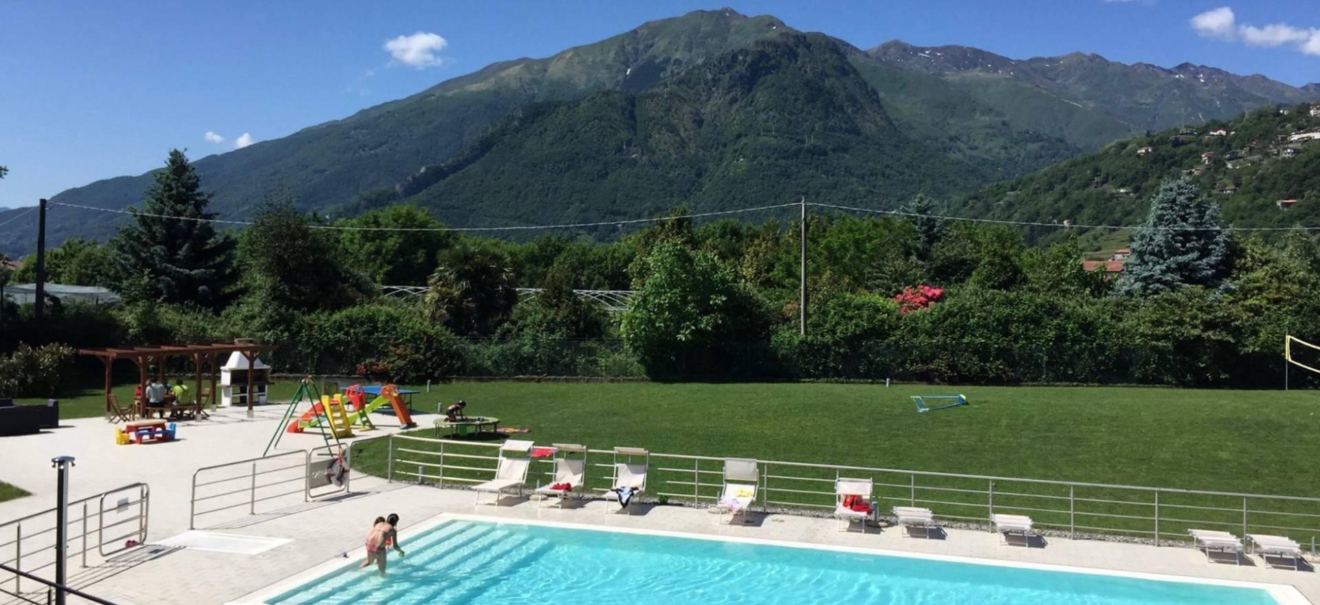 Agriturismo Comomeer en Gardameer Residence Comomeer, kindvriendelijk en groot zwembad