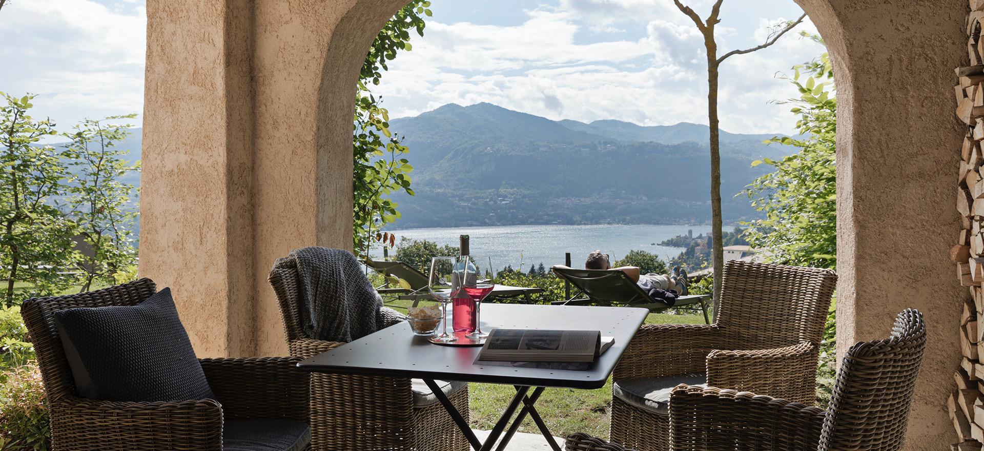 Agriturismo Lago Maggiore, luxe en uitzonderlijk uitzicht