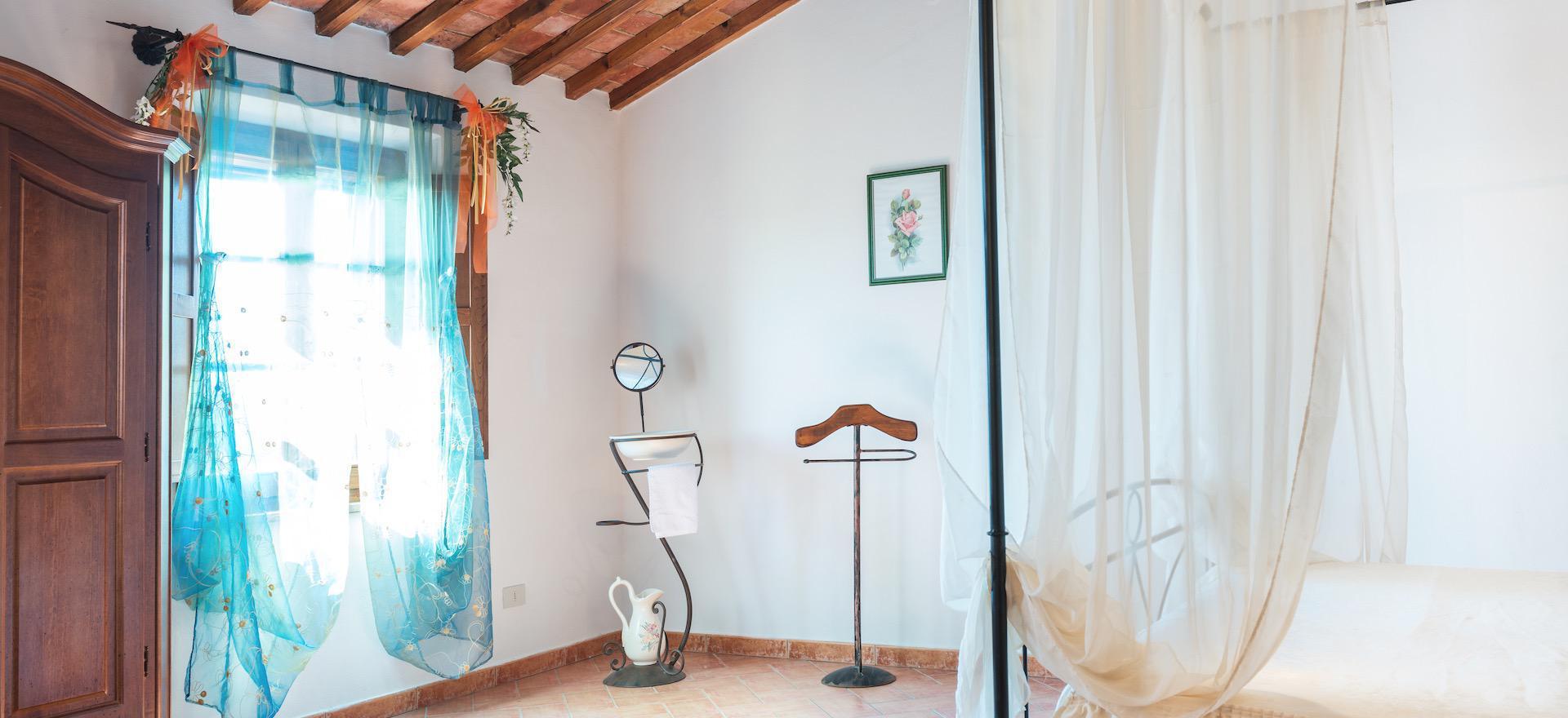 Klassieke agriturismo in Toscane met geweldig uitzicht