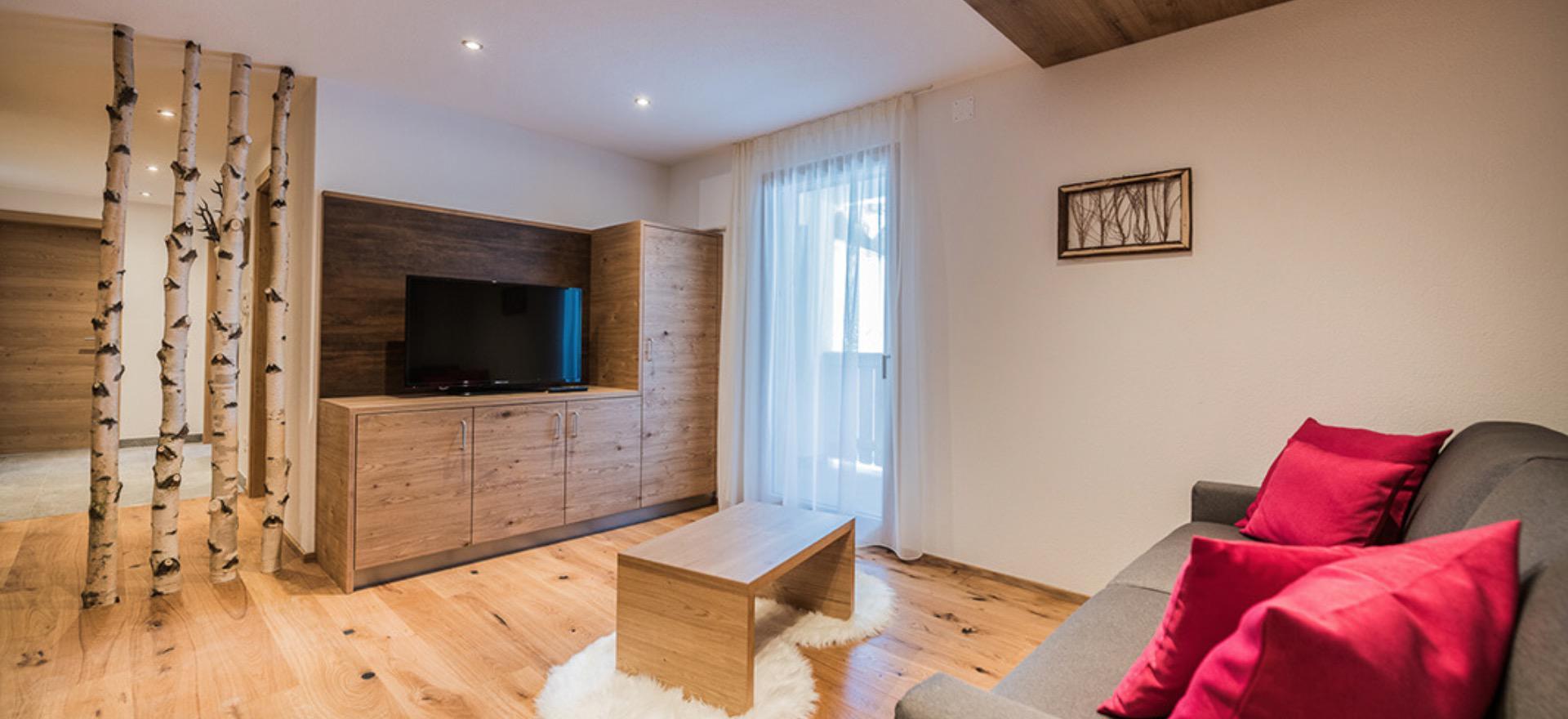 Appartementen bij gastvrije boerenfamilie in de Dolomieten