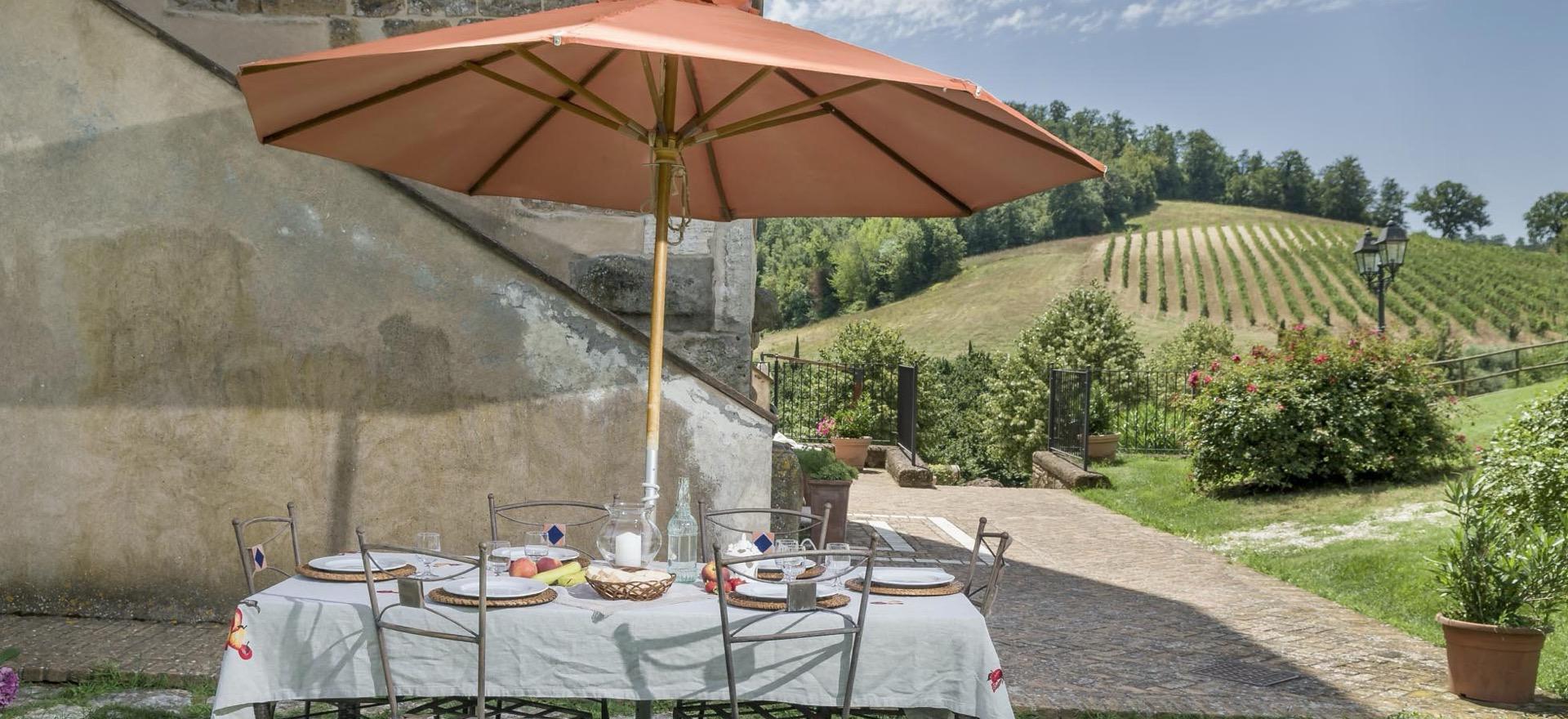 Agriturismo nabij Rome in de zonnige regio Lazio