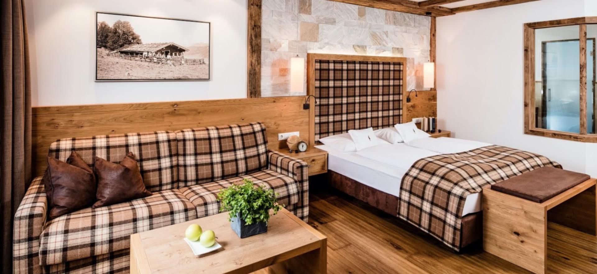 Landelijk hotel met wellness in de Dolomieten