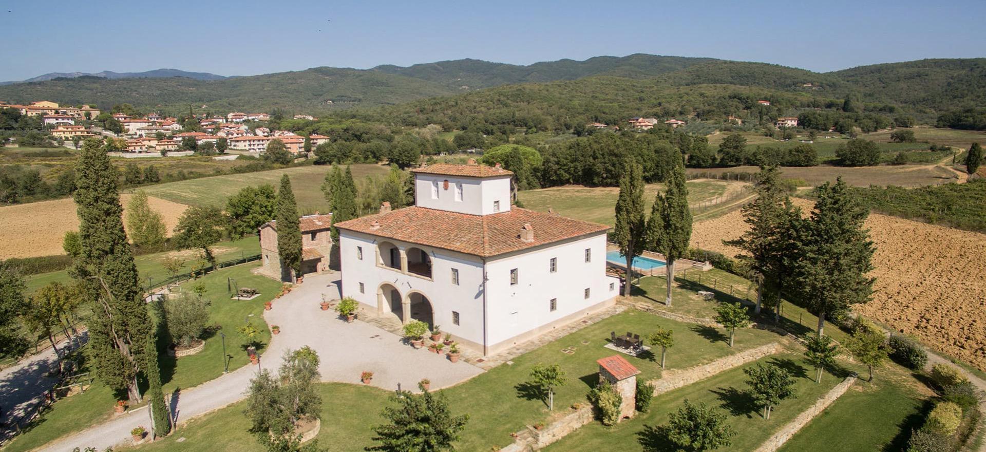 Agriturismo in Toscane op loopafstand van trattoria