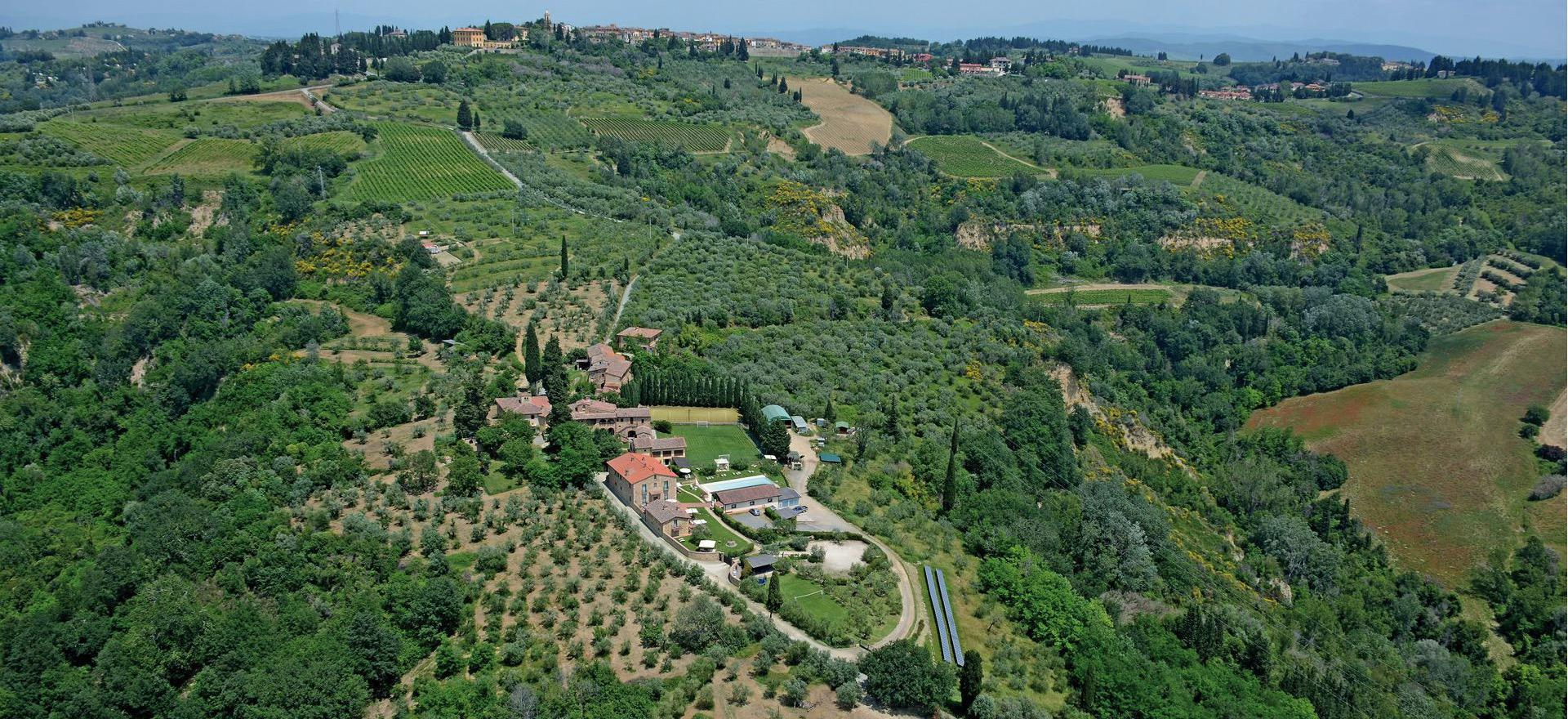 Leuke wijnboerderij voor families in Toscane
