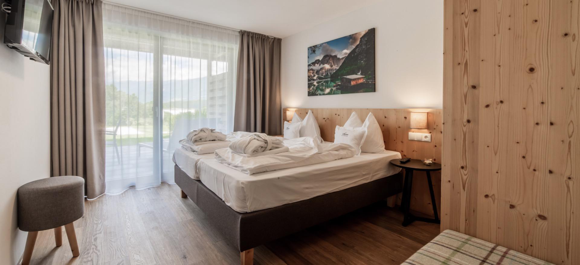 Residence Dolomieten op loopafstand van dorp en skilift