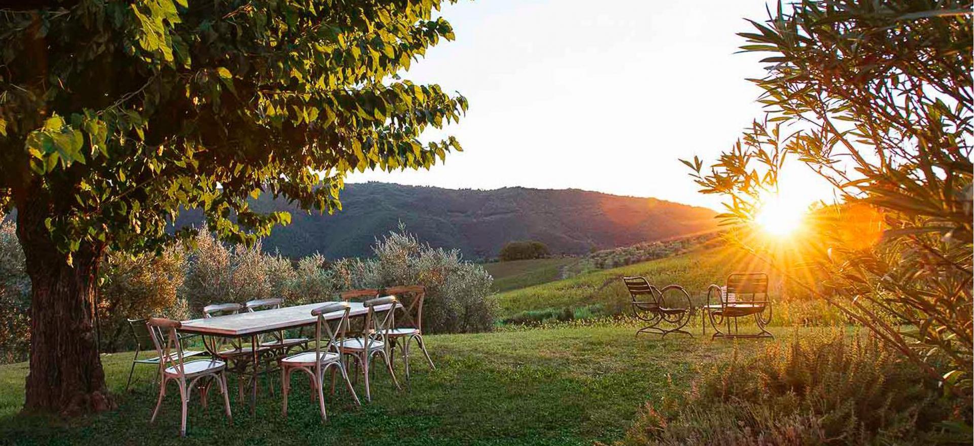 Gastvrije agriturismo en wijnboerderij bij Florence