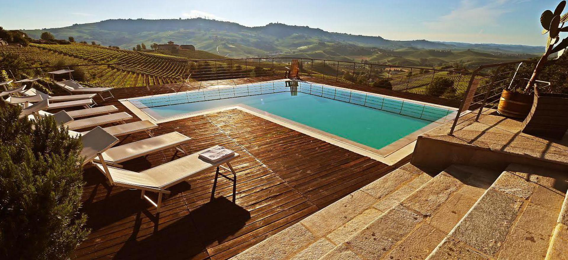 Agriturismo in Piemonte, in een karakteristiek dorpje