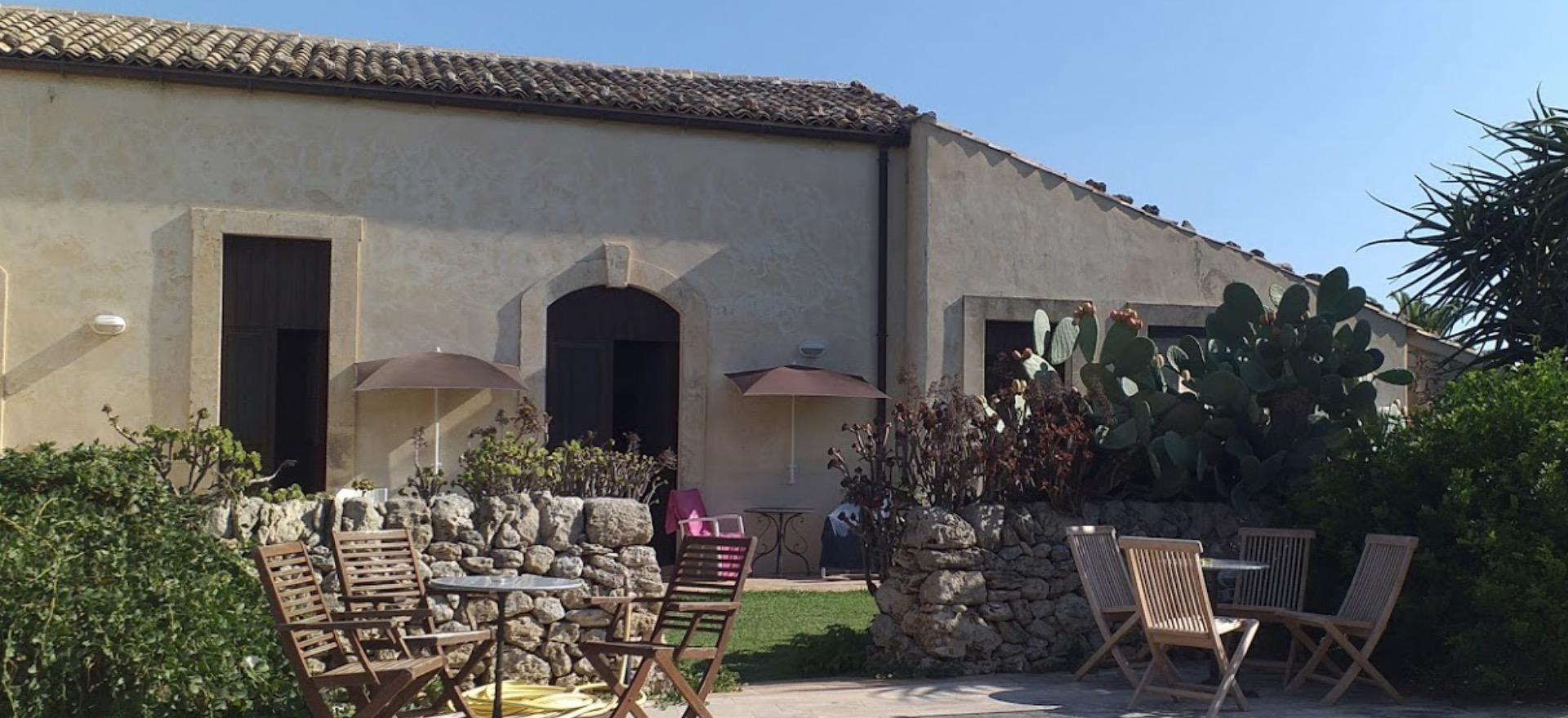 Gemoedelijke agriturismo in Sicilie met restaurant